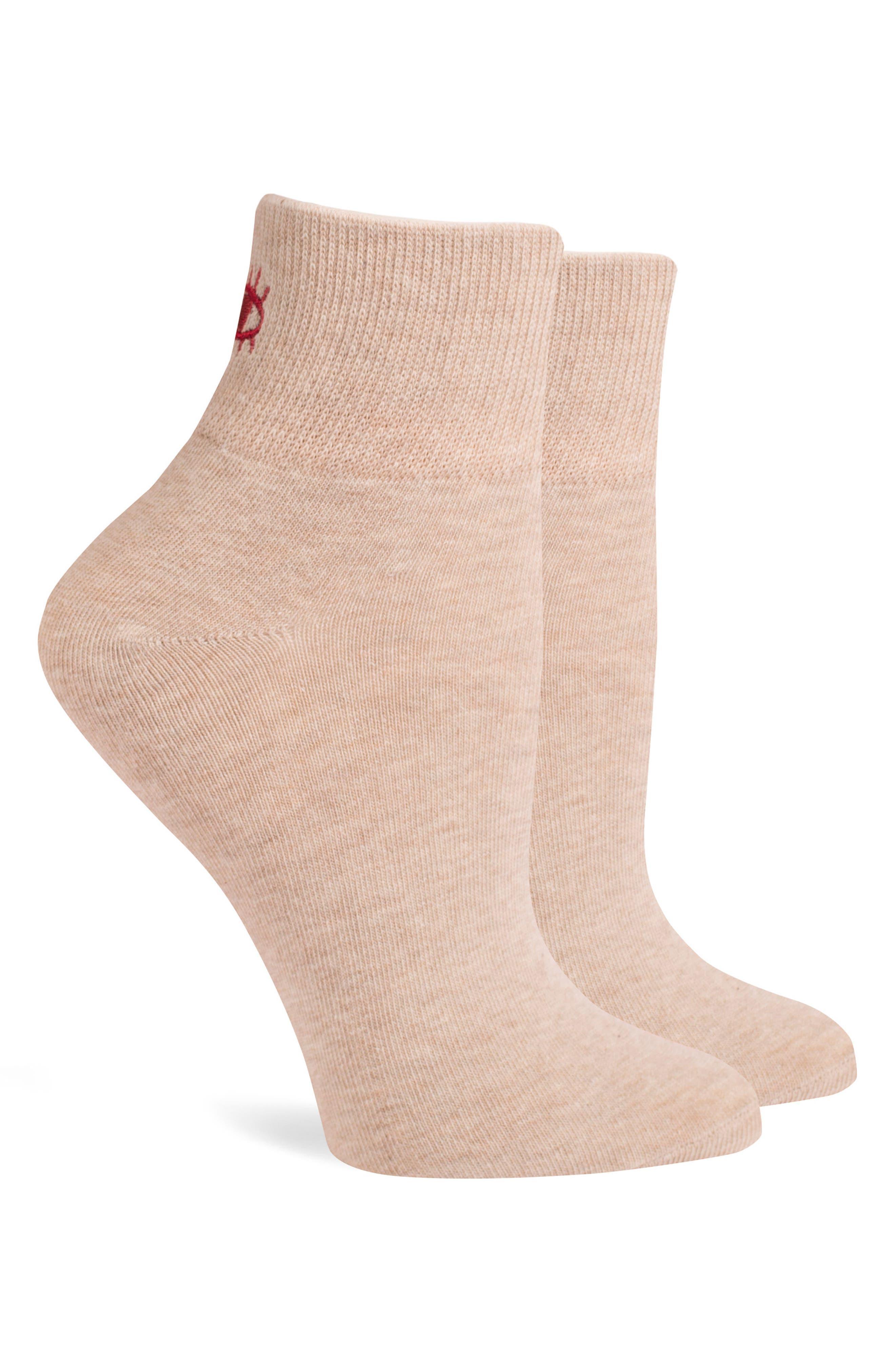 Blink Ankle Socks,                             Alternate thumbnail 4, color,