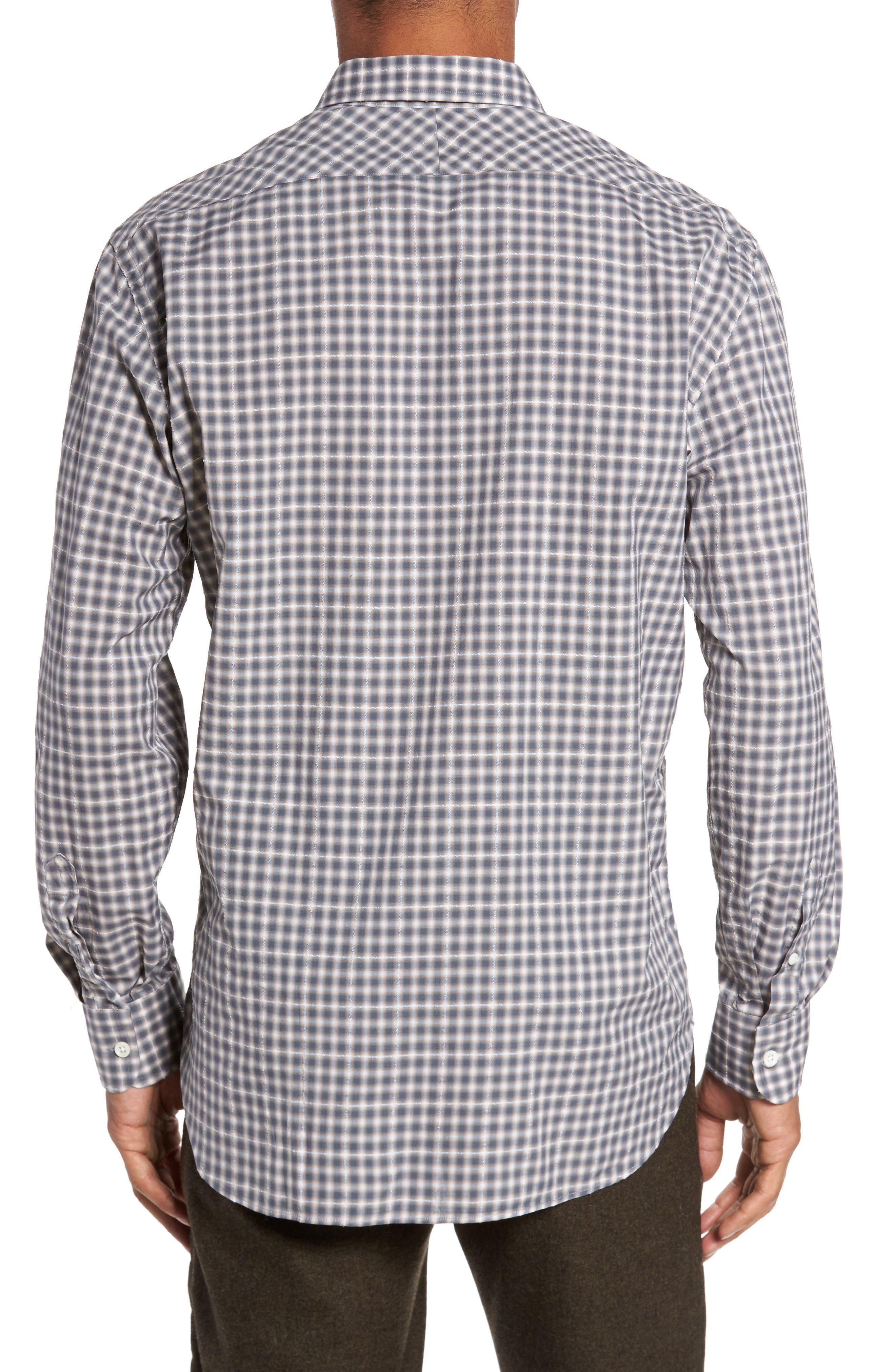 John T Print Slim Fit Sport Shirt,                             Alternate thumbnail 2, color,                             090