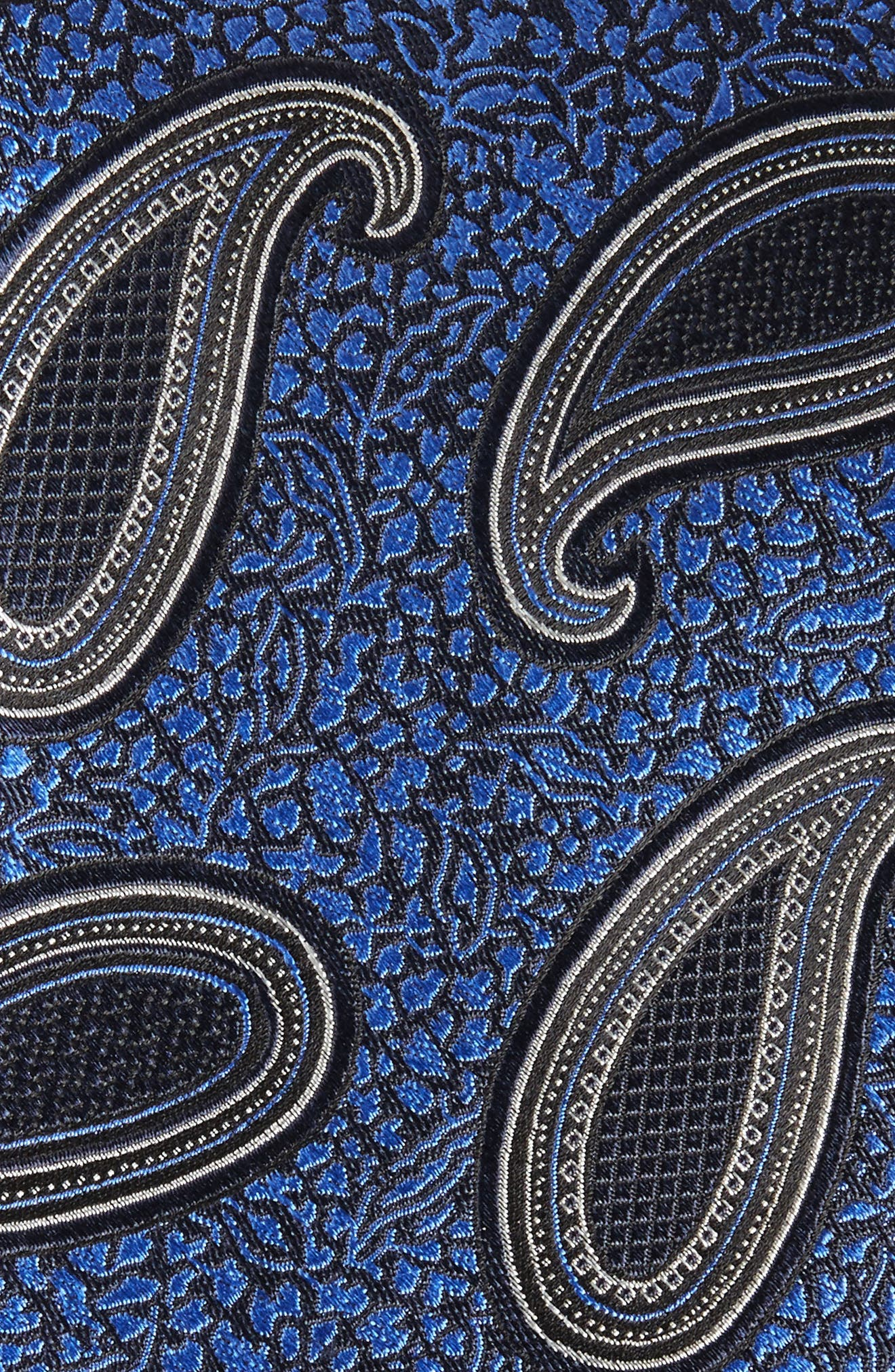 Paisley Silk Tie,                             Alternate thumbnail 2, color,                             418