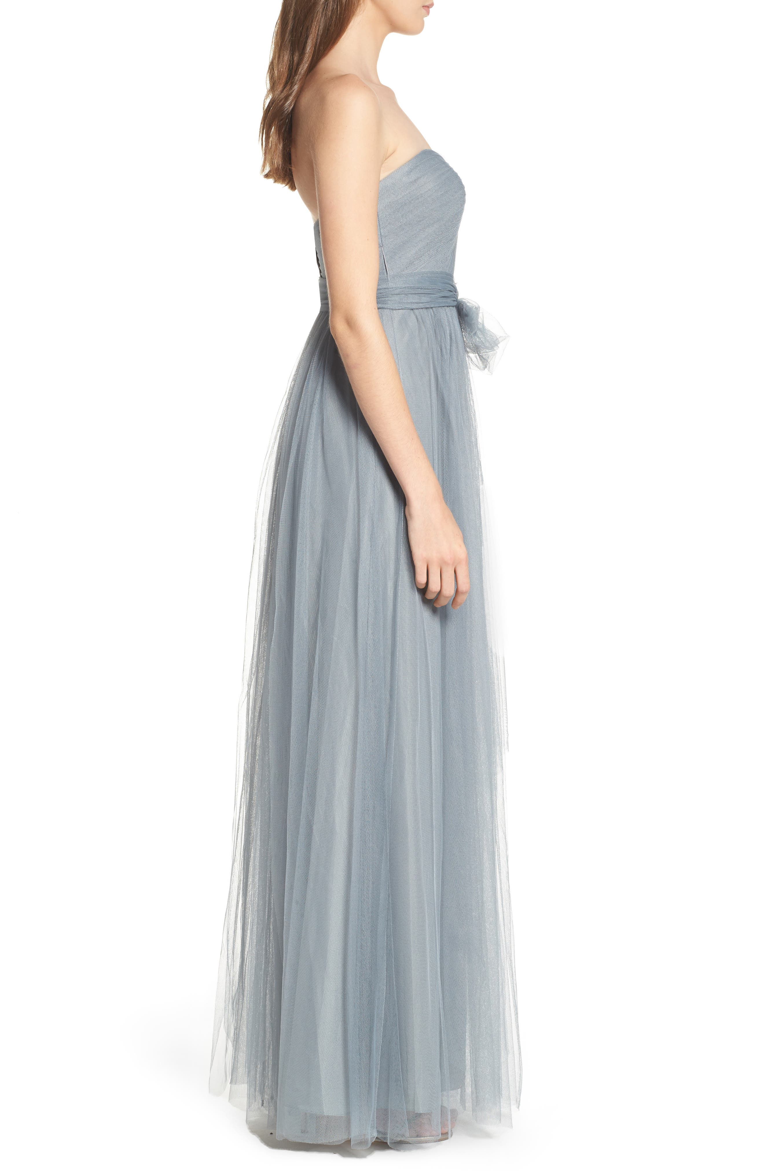Annabelle Convertible Tulle Column Dress,                             Alternate thumbnail 94, color,