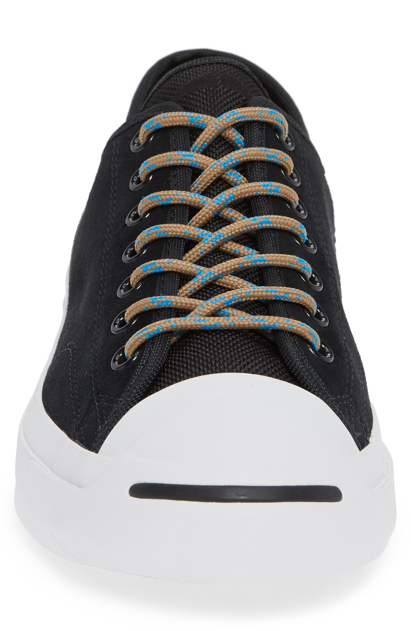 Jack Purcell Jack Wanderer Low Top Sneaker,                             Alternate thumbnail 4, color,                             BLACK/ BLUE HERO/ TEAK