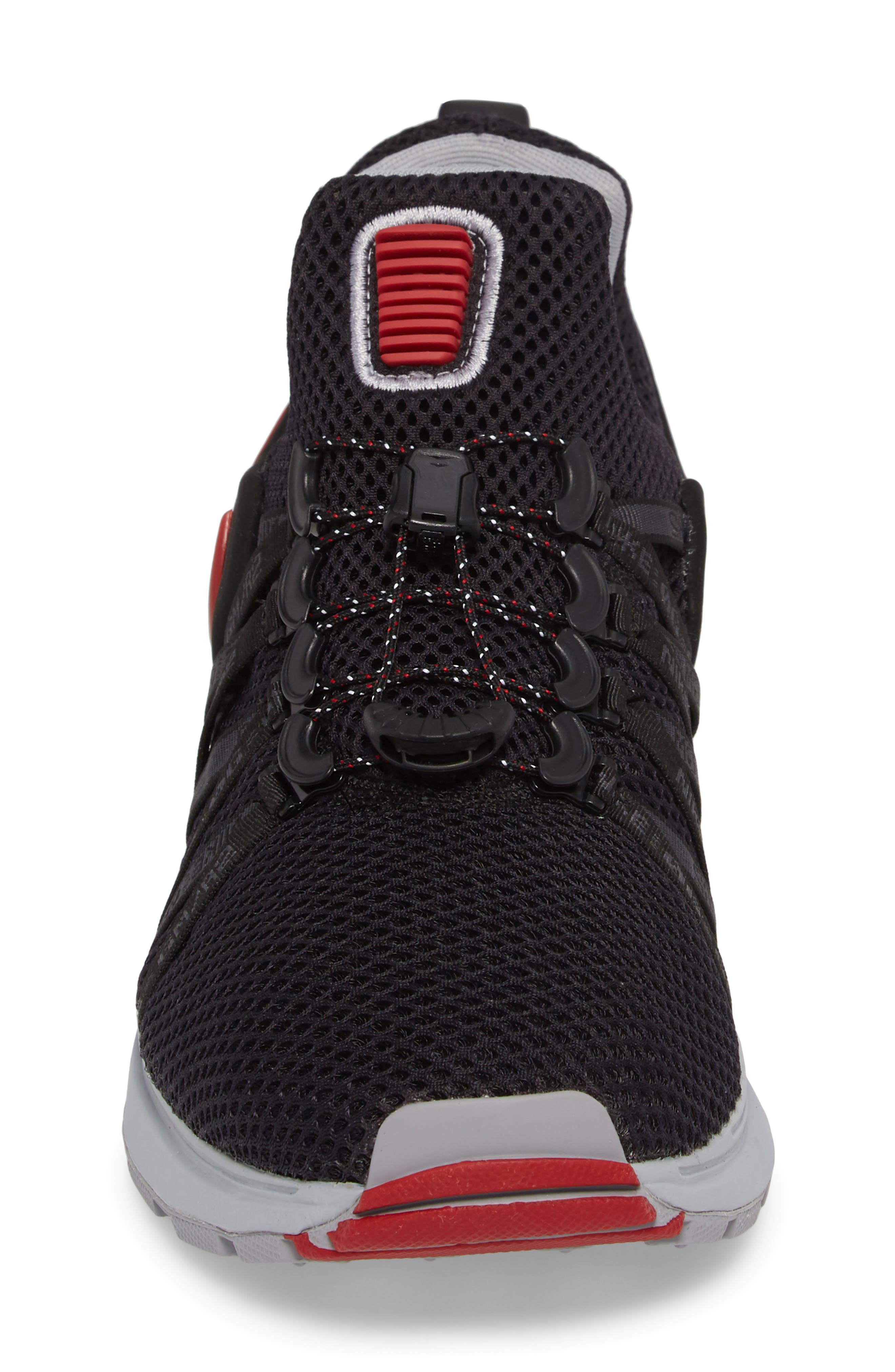 Shox Gravity Sneaker,                             Alternate thumbnail 4, color,                             016