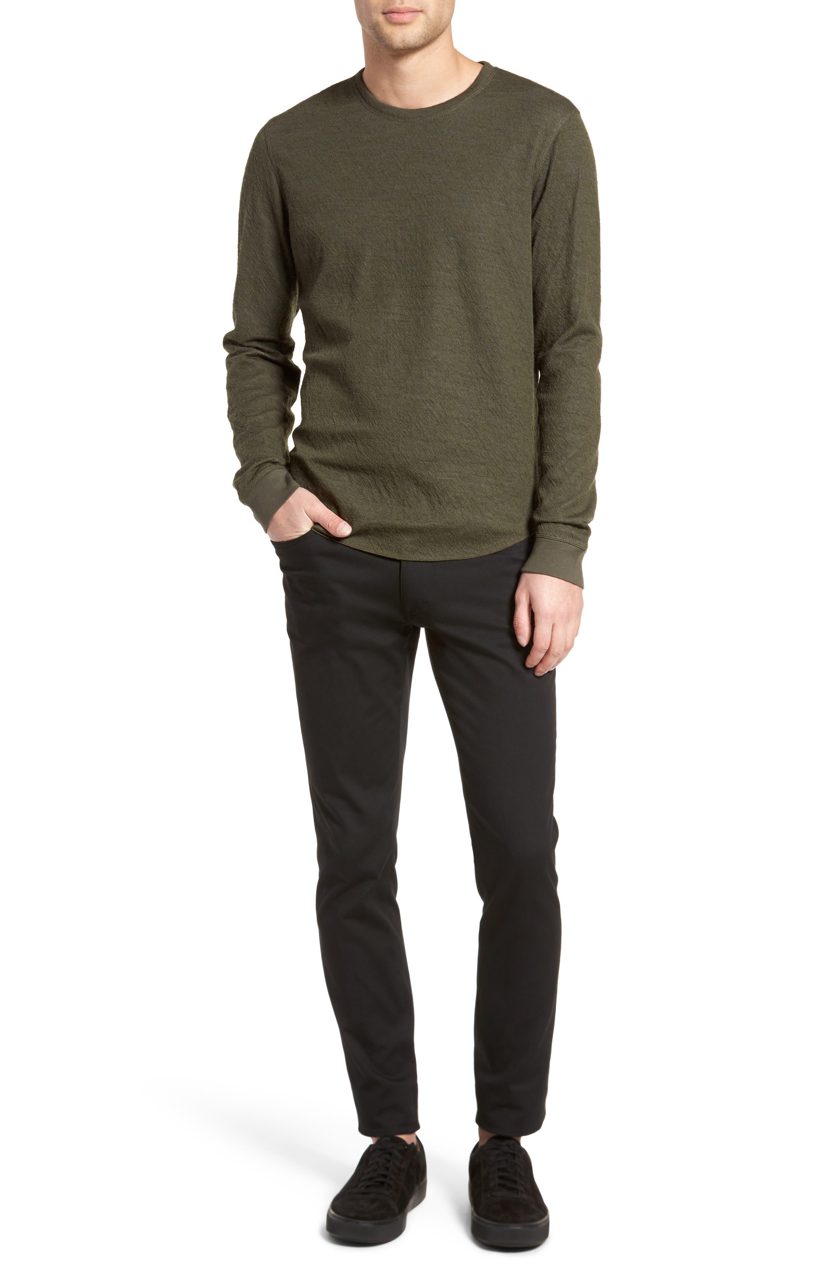 Double Knit Long Sleeve Shirt,                             Alternate thumbnail 13, color,