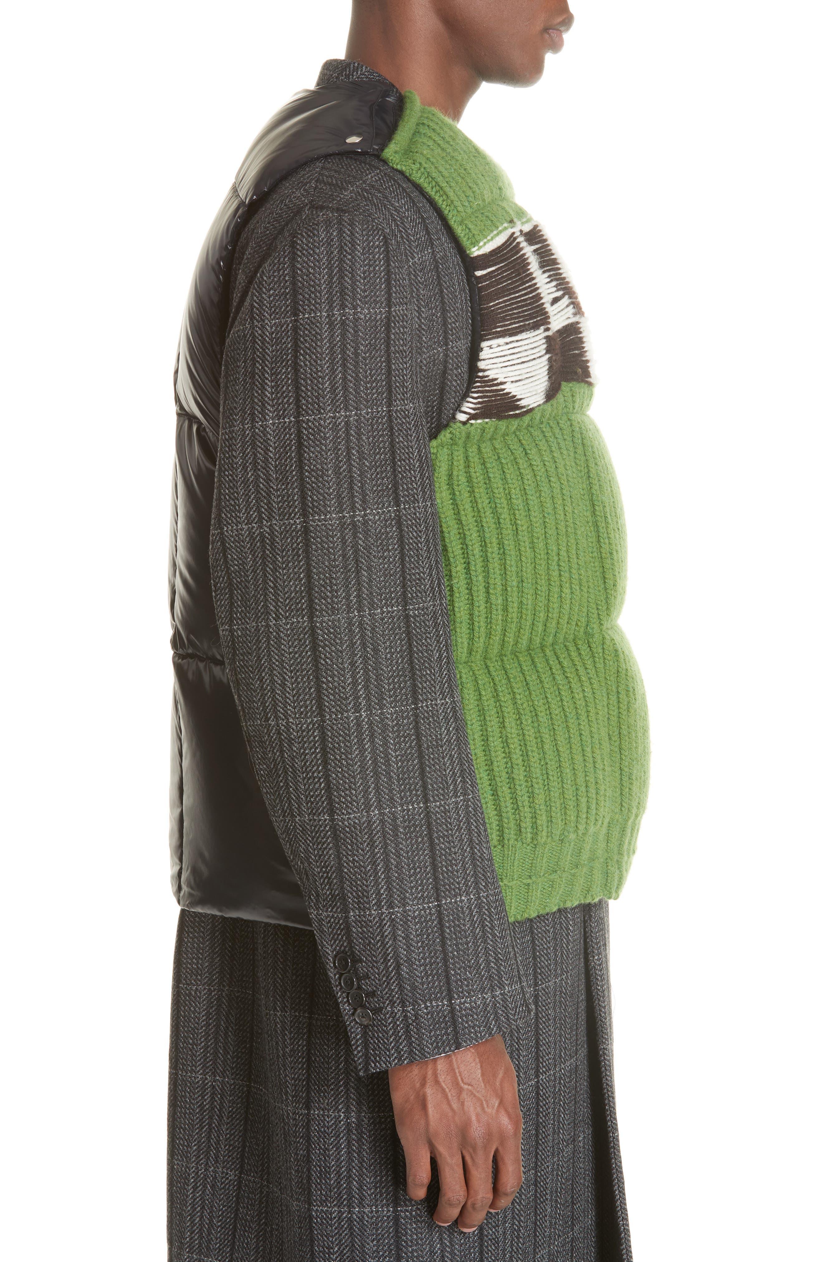 Body Warmer Vest,                             Alternate thumbnail 2, color,                             GREEN FERN