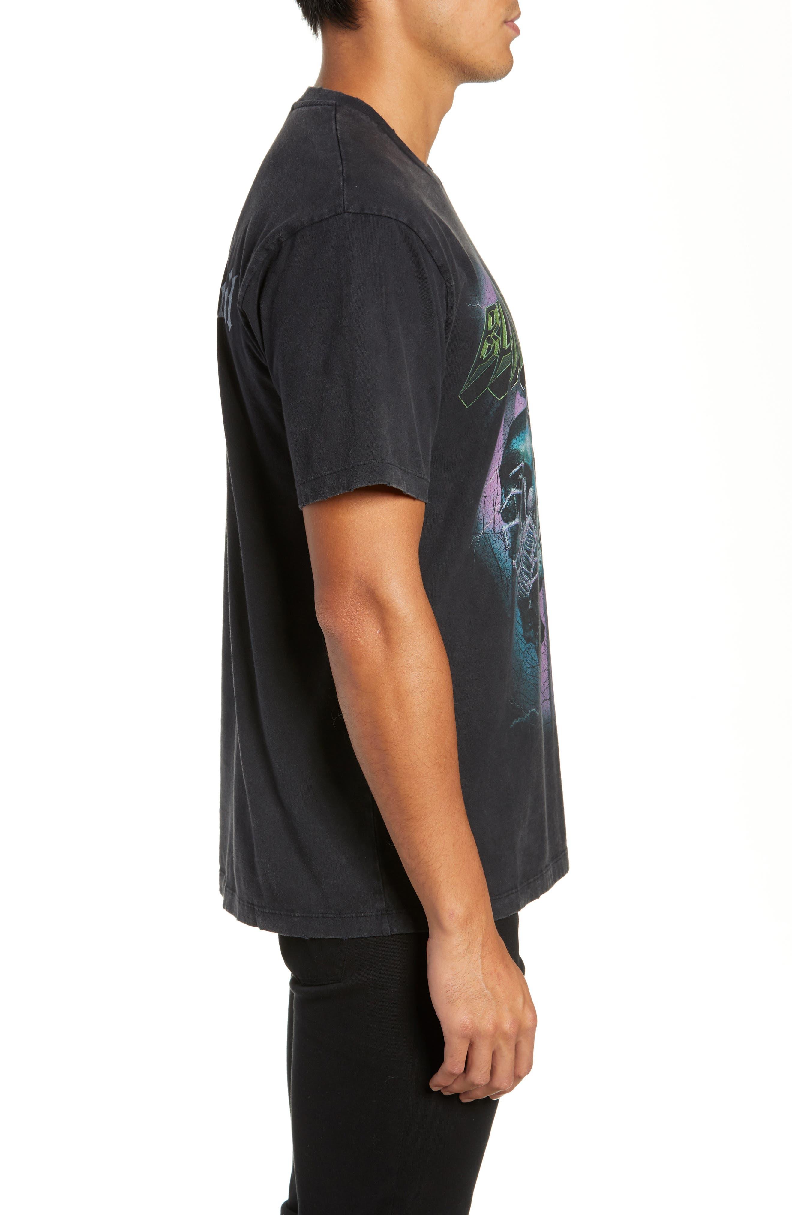 Black Widow Graphic T-Shirt,                             Alternate thumbnail 3, color,                             001