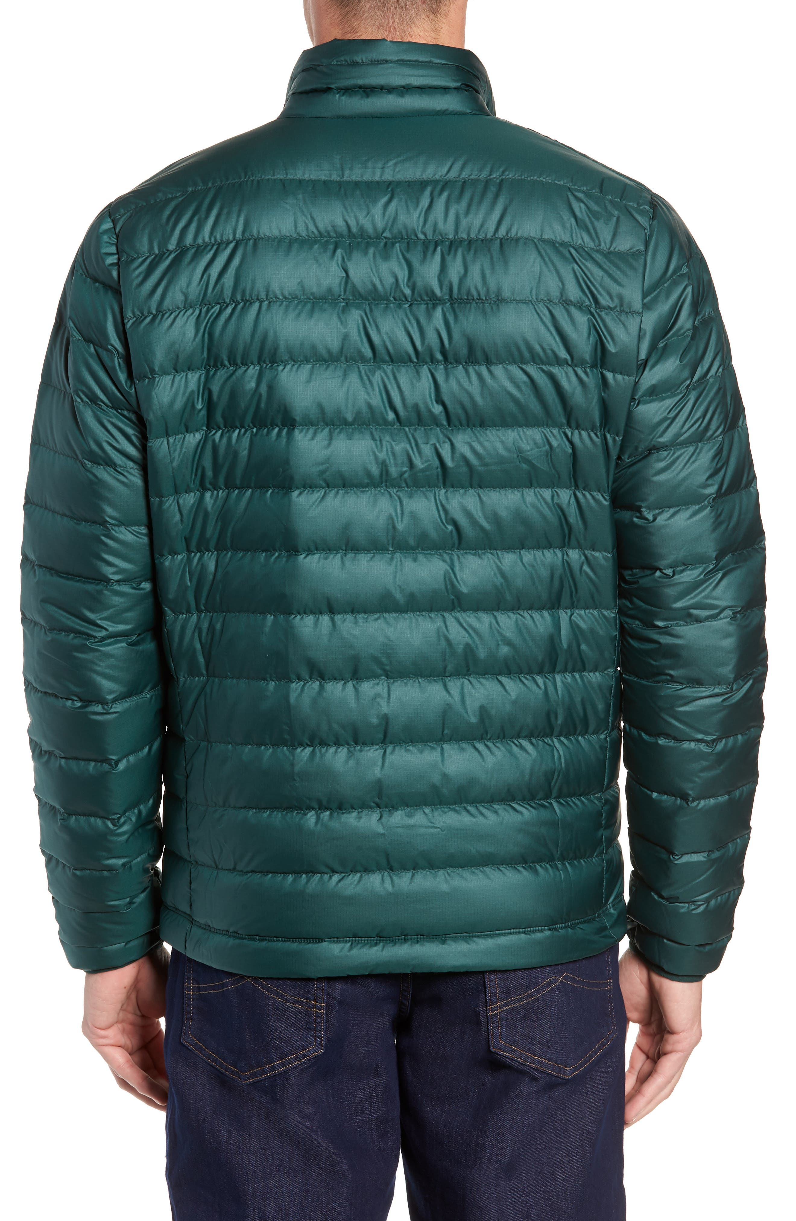 Water Repellent Down Jacket,                             Alternate thumbnail 2, color,                             MICRO GREEN