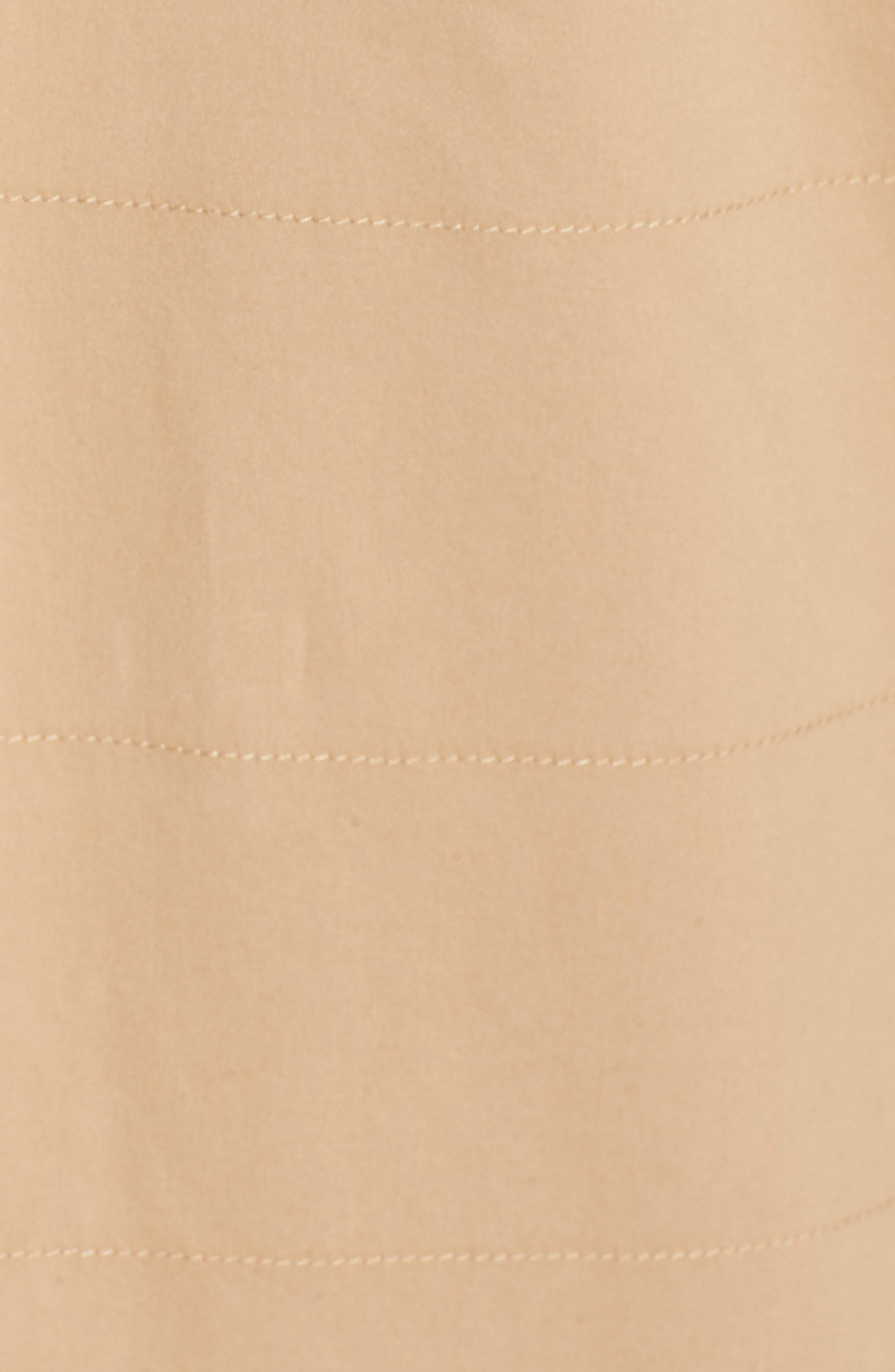 Snap Detail Trench Coat,                             Alternate thumbnail 6, color,