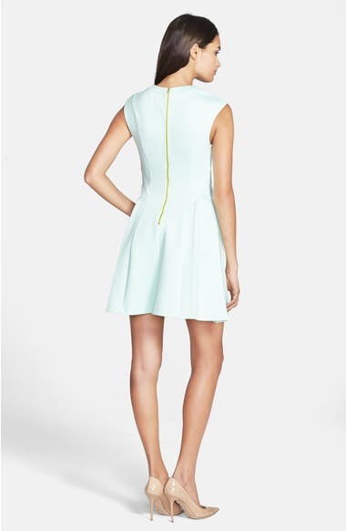 96638b1250258b Ted Baker London  Nistee  Side Pleat Jersey Skater Dress