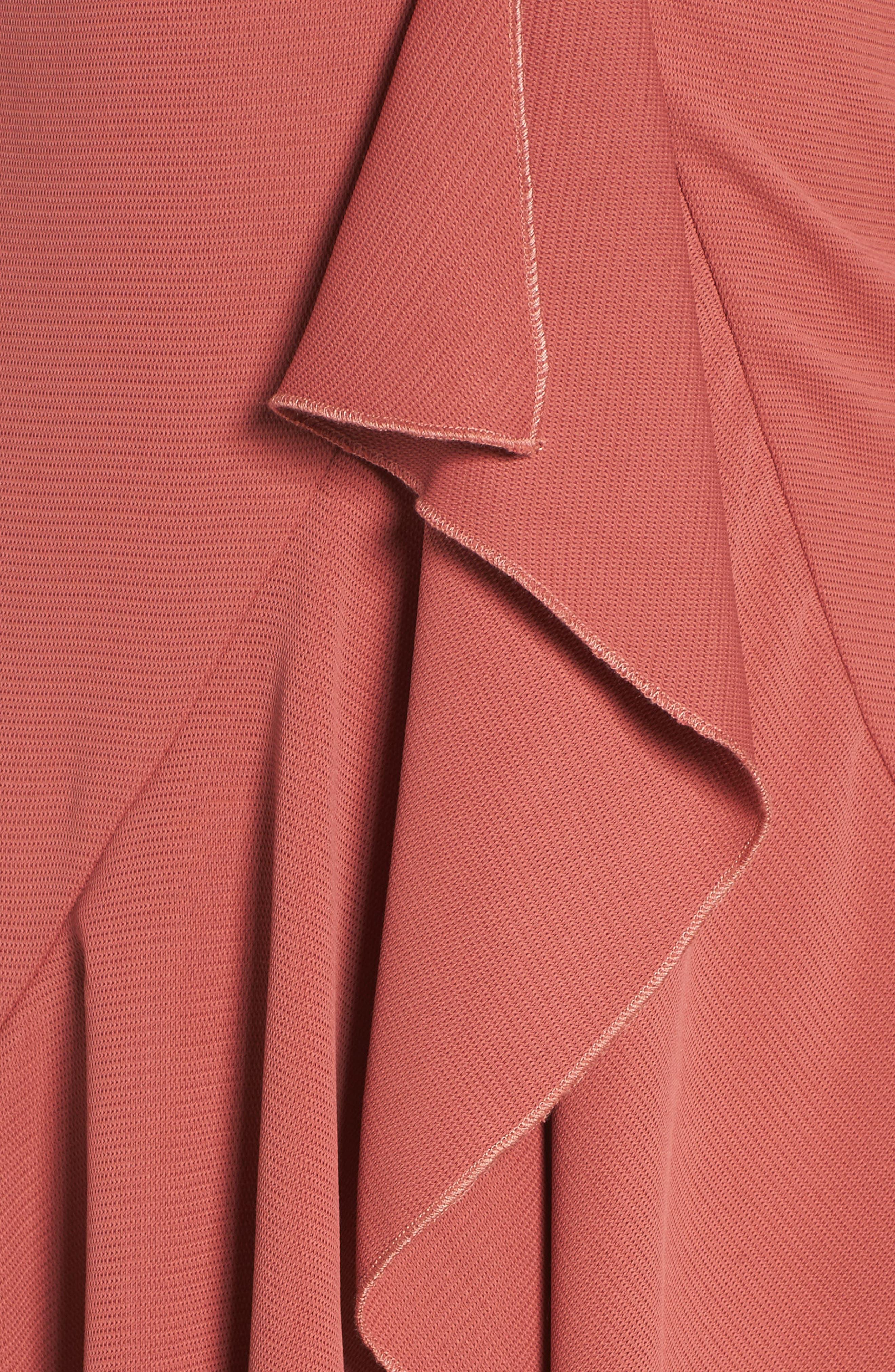 Gossamer Asymmetrical Ruffle Slipdress,                             Alternate thumbnail 10, color,