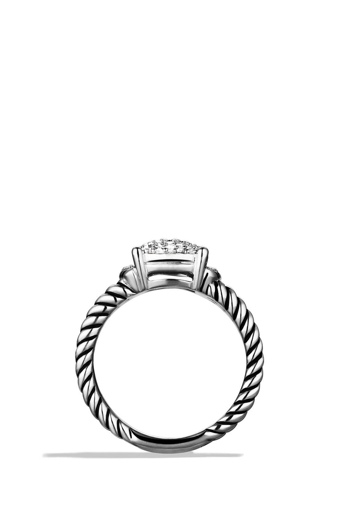 'Wheaton' Petite Ring with Diamonds,                             Alternate thumbnail 2, color,                             DIAMOND