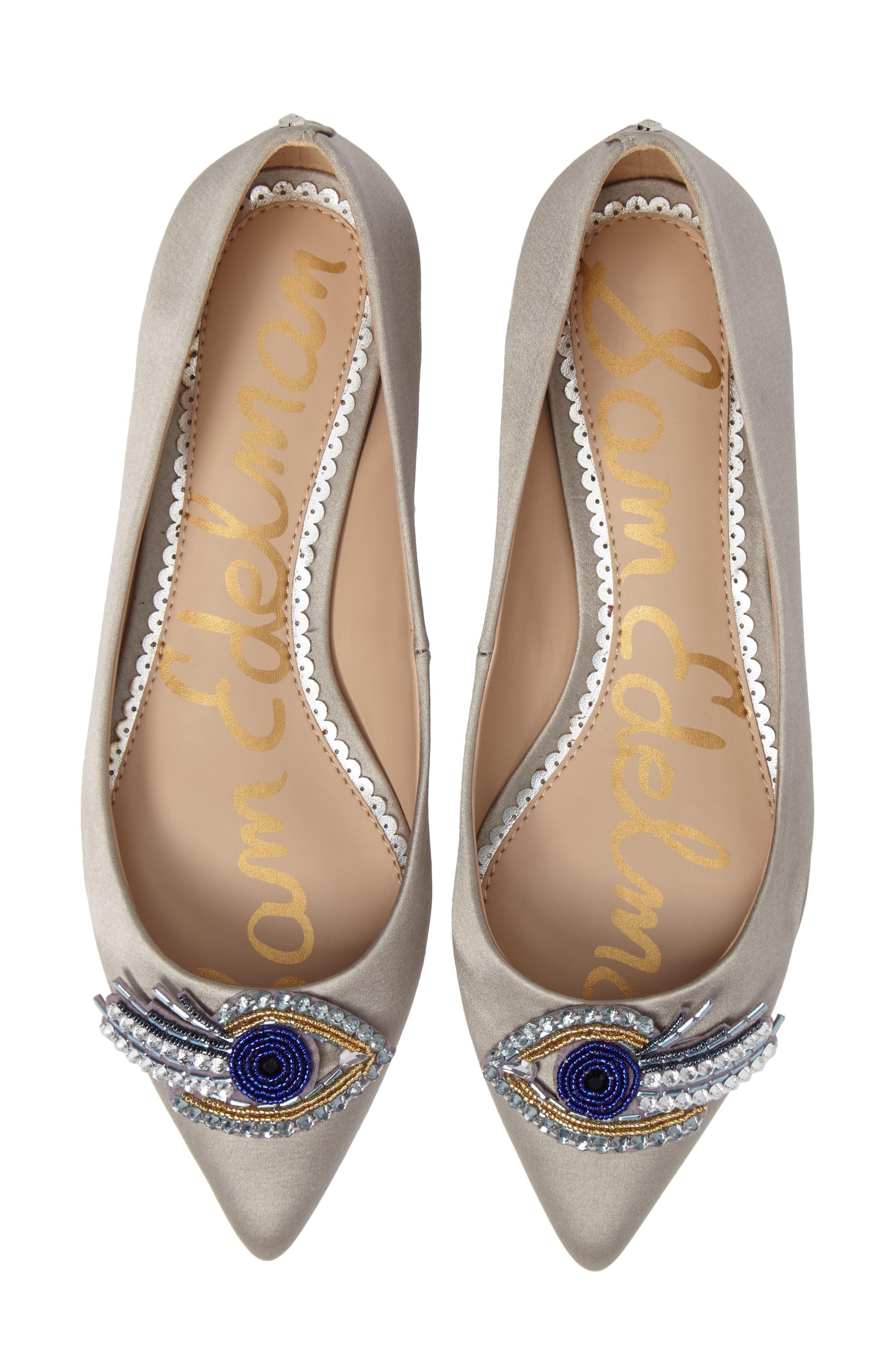 Rafaella Pointy Toe Ballet Flat,                         Main,                         color, 020