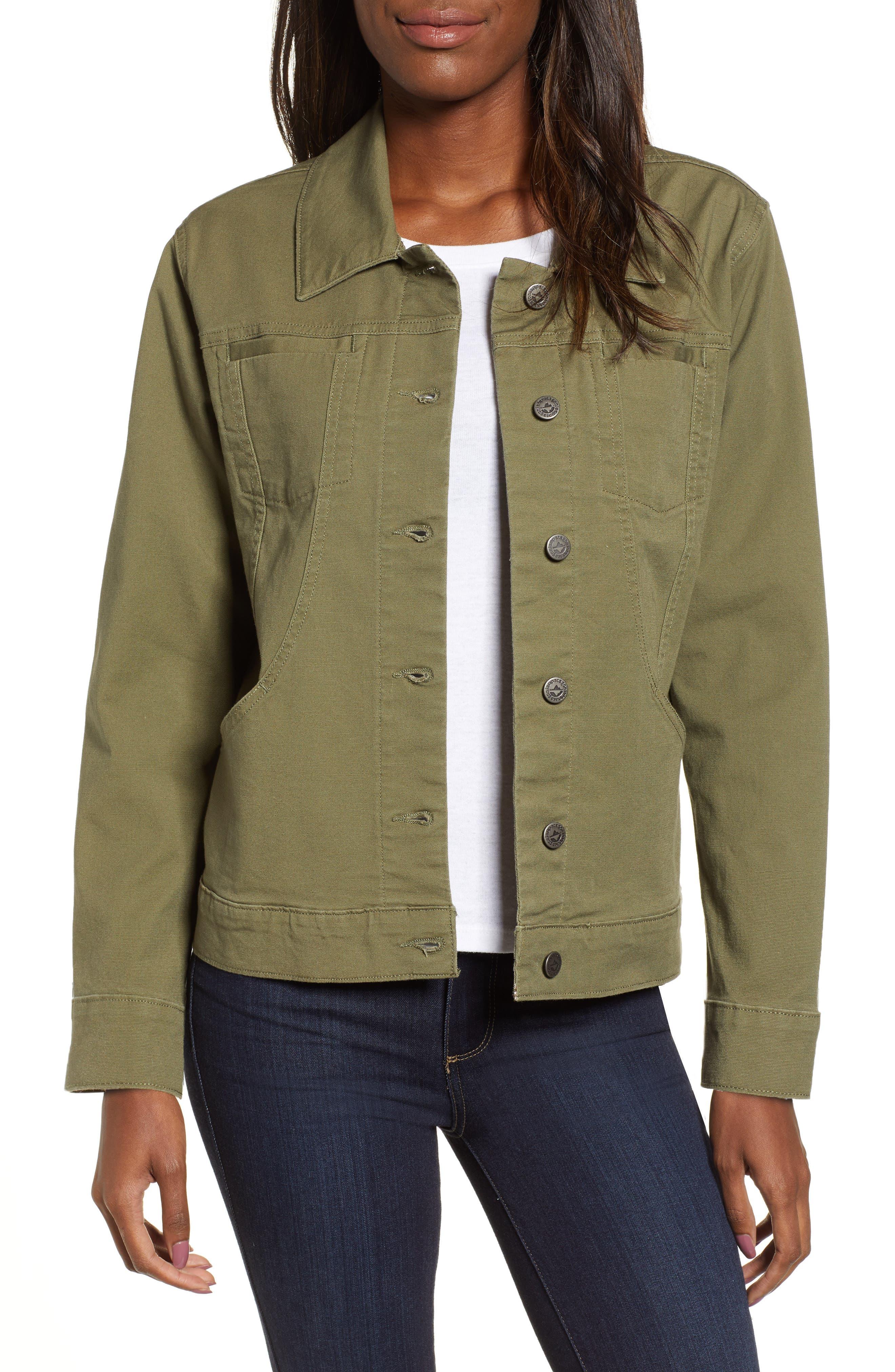 Patagonia Stand Up Shirt Jacket, Green
