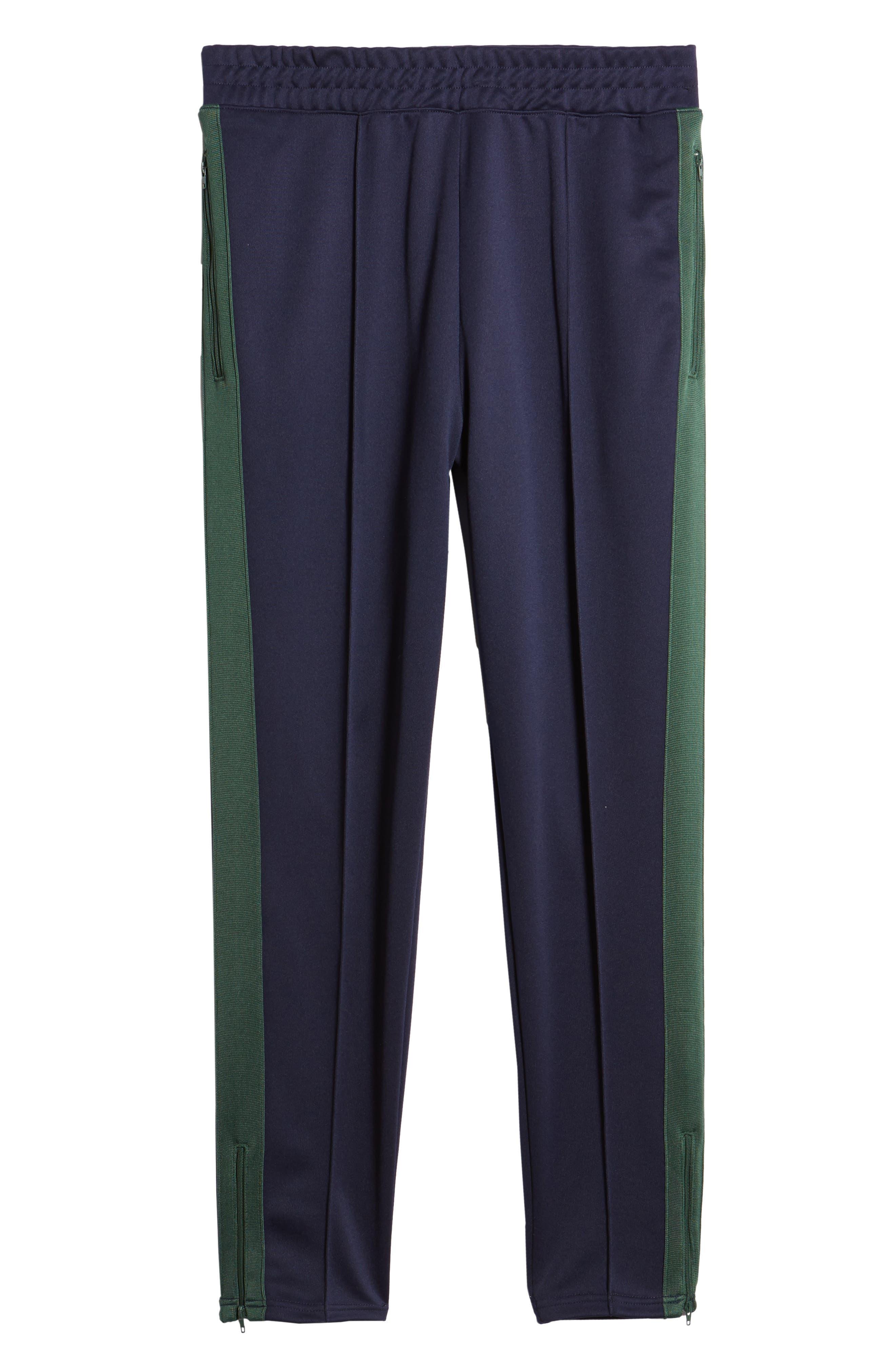 NIKE,                             x Martine Rose Men's Track Pants,                             Alternate thumbnail 6, color,                             BLACKENED BLUE/ FIR