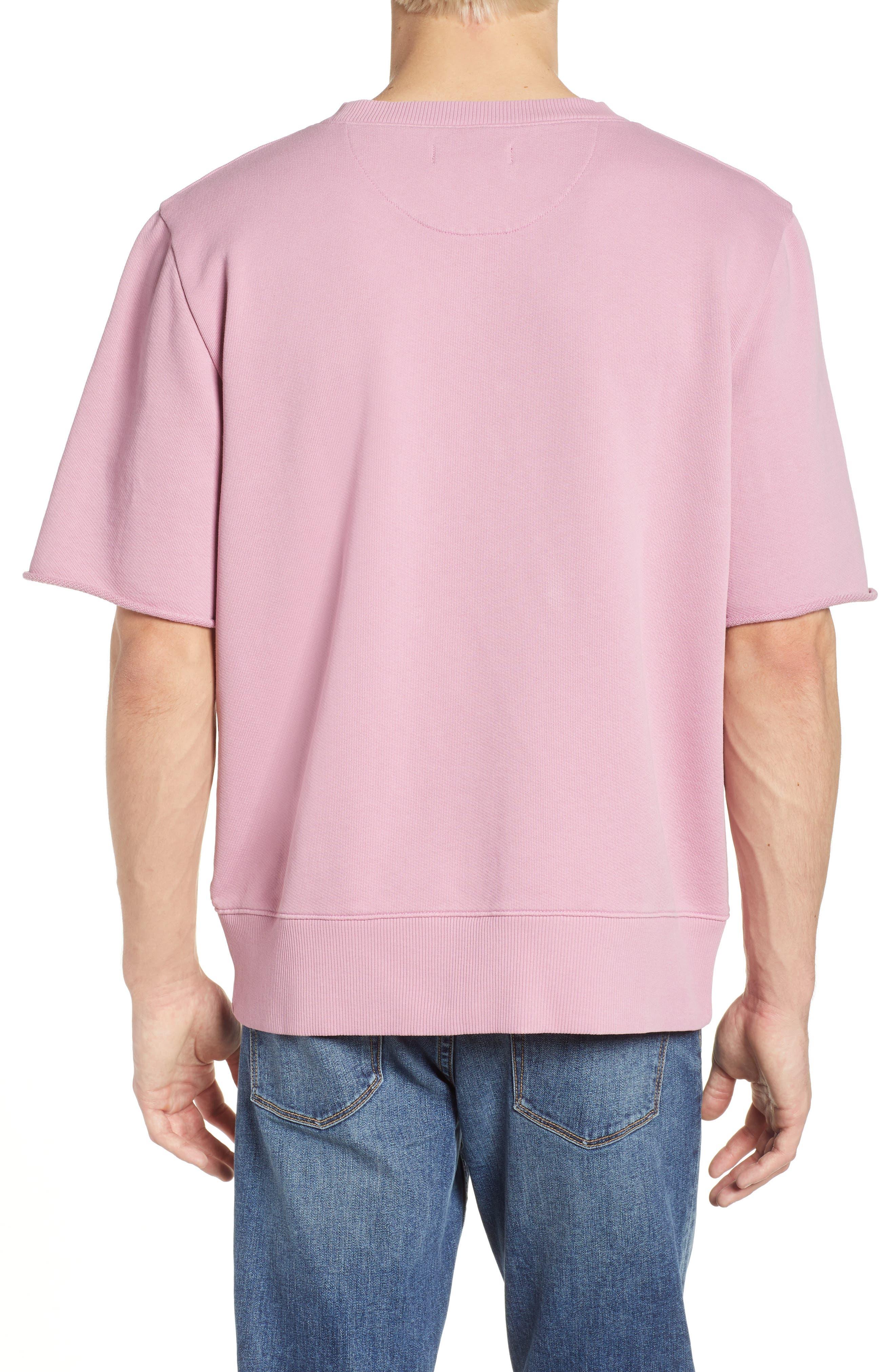 Cotton Terry Sweatshirt,                             Alternate thumbnail 4, color,