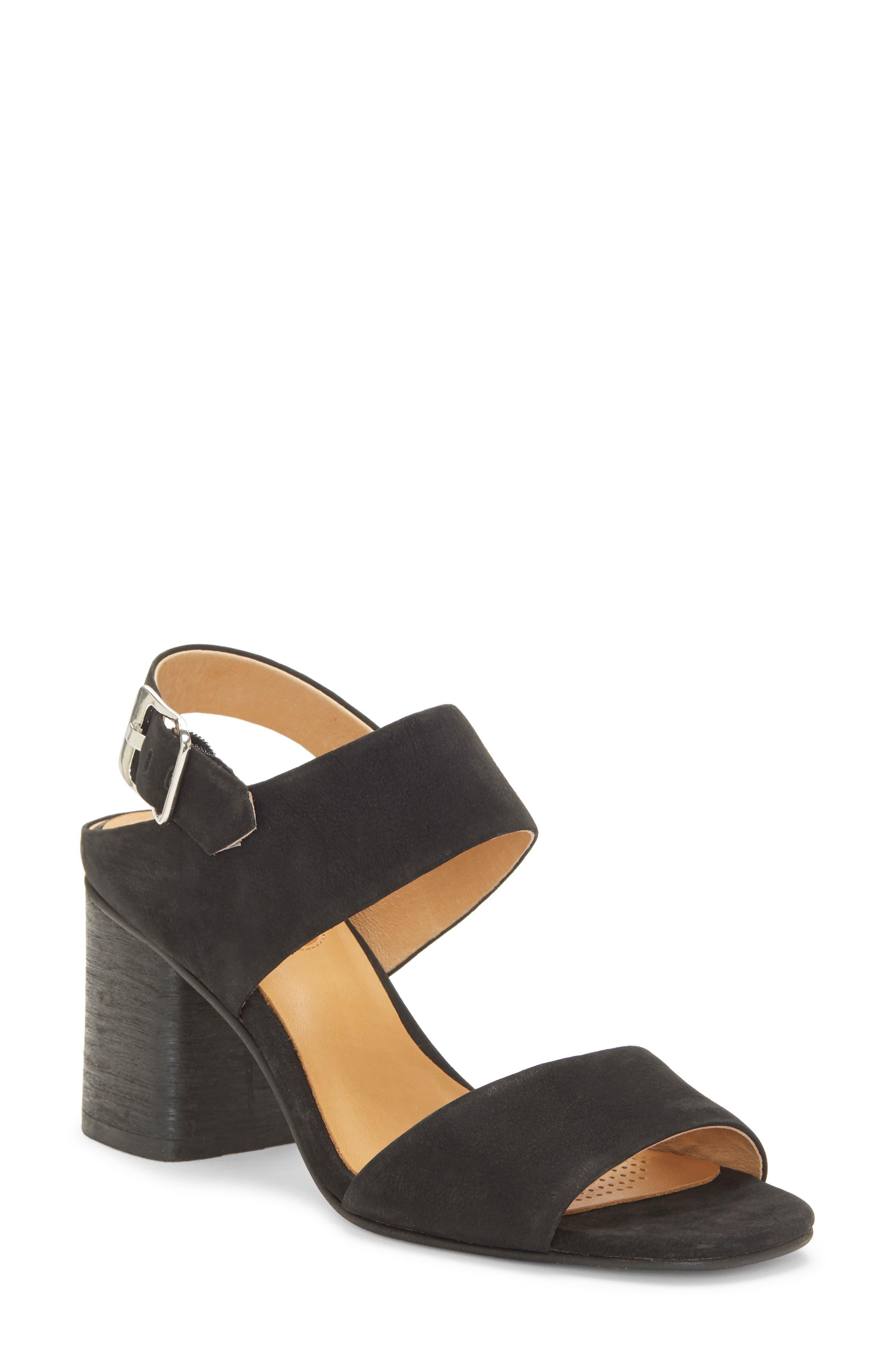 CC CORSO COMO<SUP>®</SUP>,                             CC Corso Como Prysm Block Heel Sandal,                             Main thumbnail 1, color,                             BLACK LEATHER