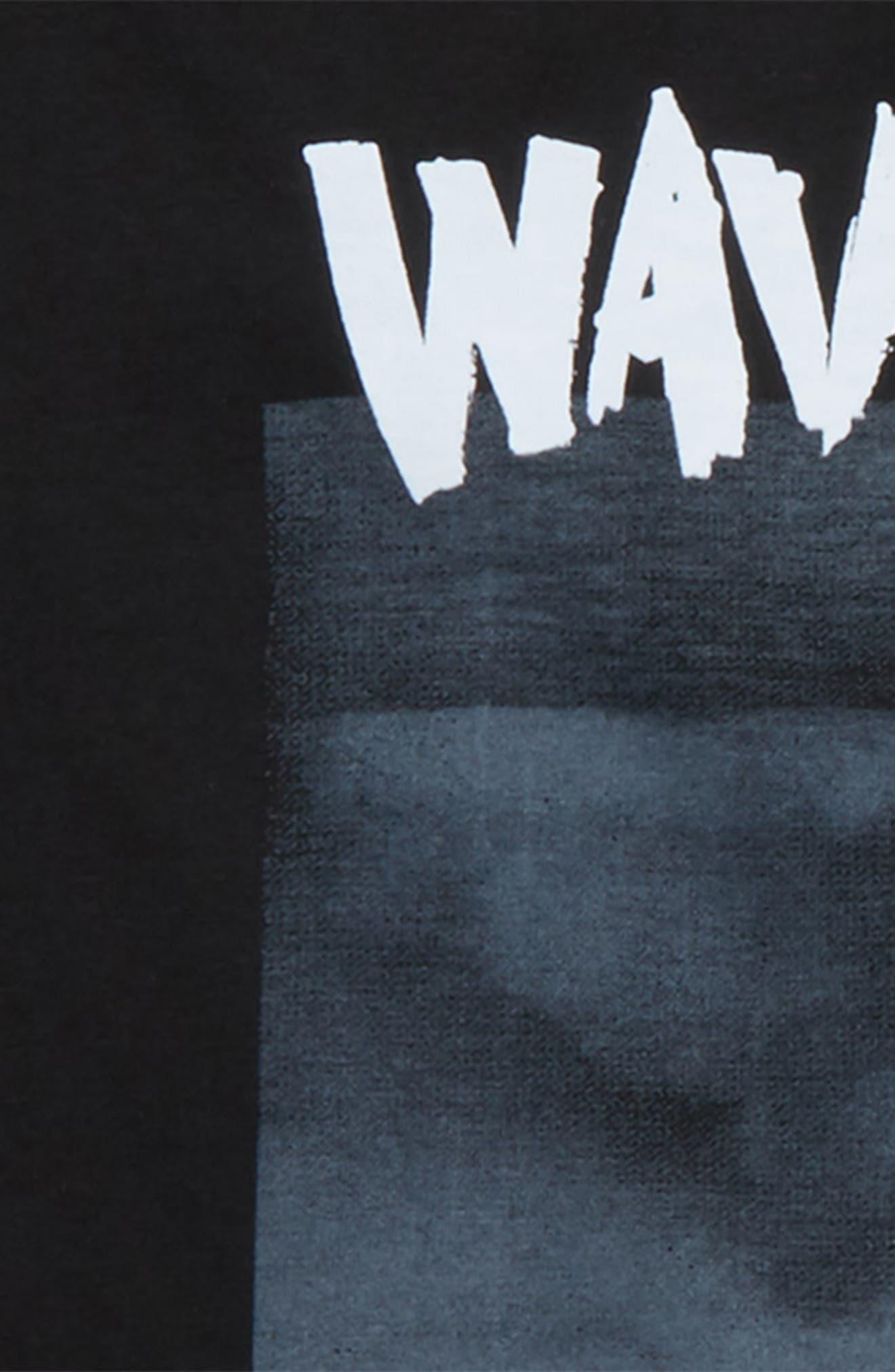 Wave Cult T-Shirt,                             Alternate thumbnail 2, color,                             001