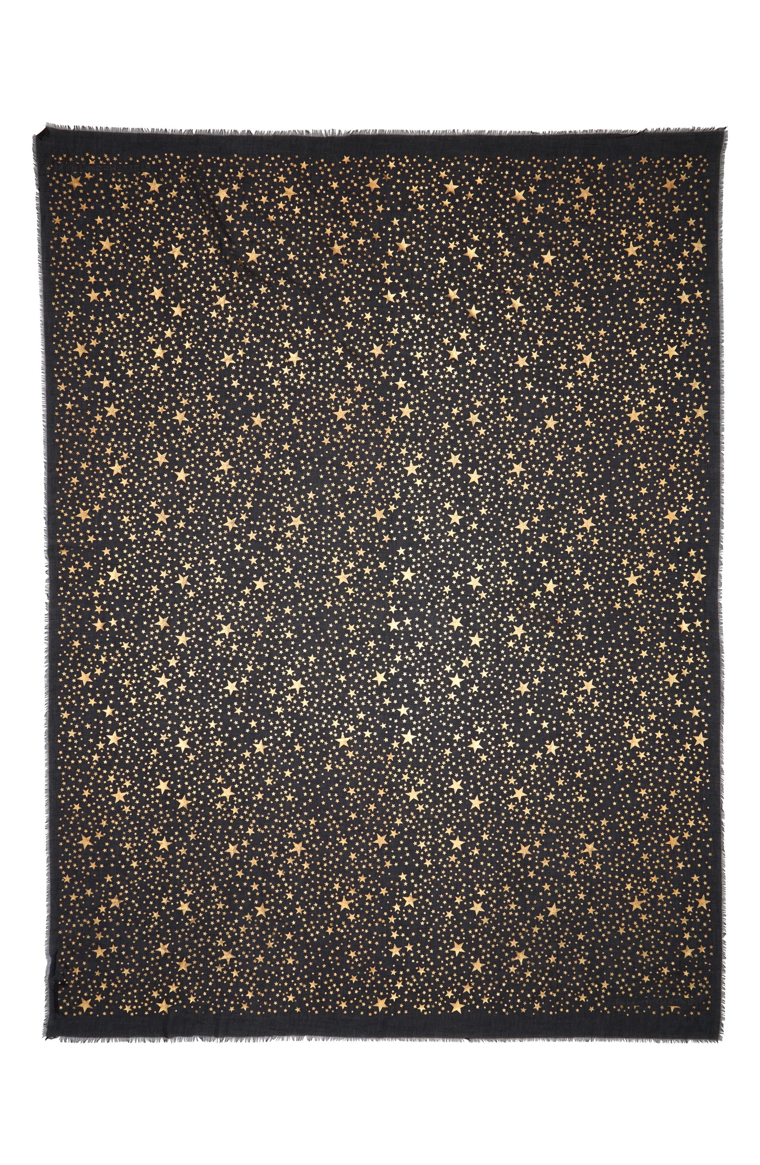 Star Silk & Modal Scarf,                             Alternate thumbnail 3, color,
