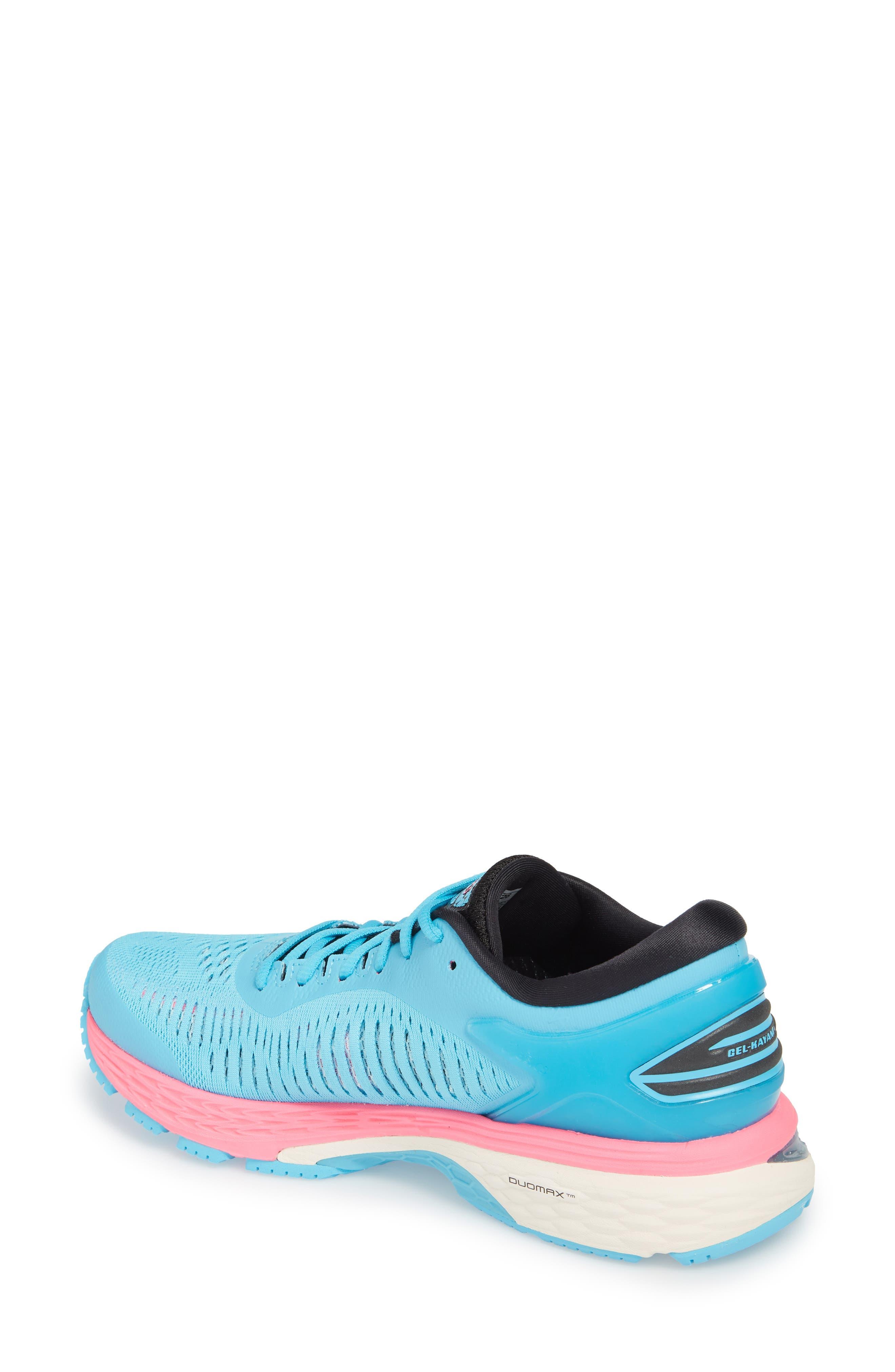 GEL-Kayano<sup>®</sup> 25 Running Shoe,                             Alternate thumbnail 2, color,                             AQUARIUM/ BLACK