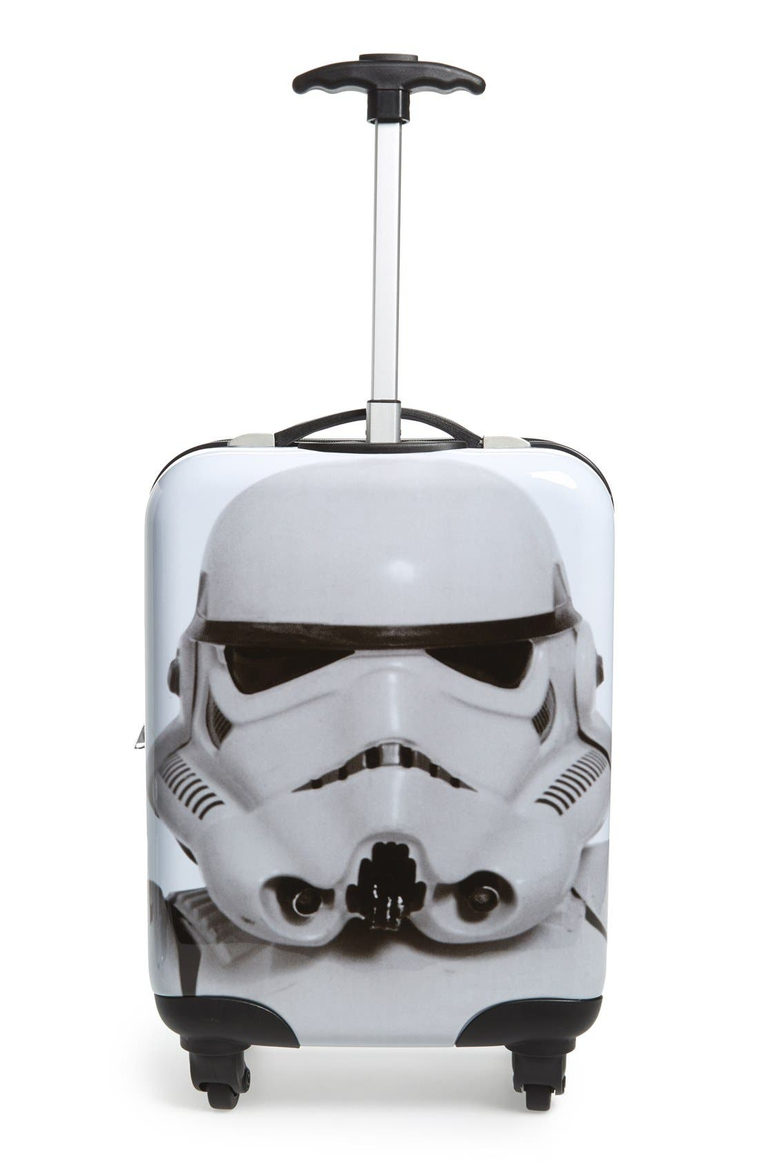 'Star Wars - Darth Vader & Stormtrooper' Rolling Suitcase,                             Alternate thumbnail 3, color,                             001