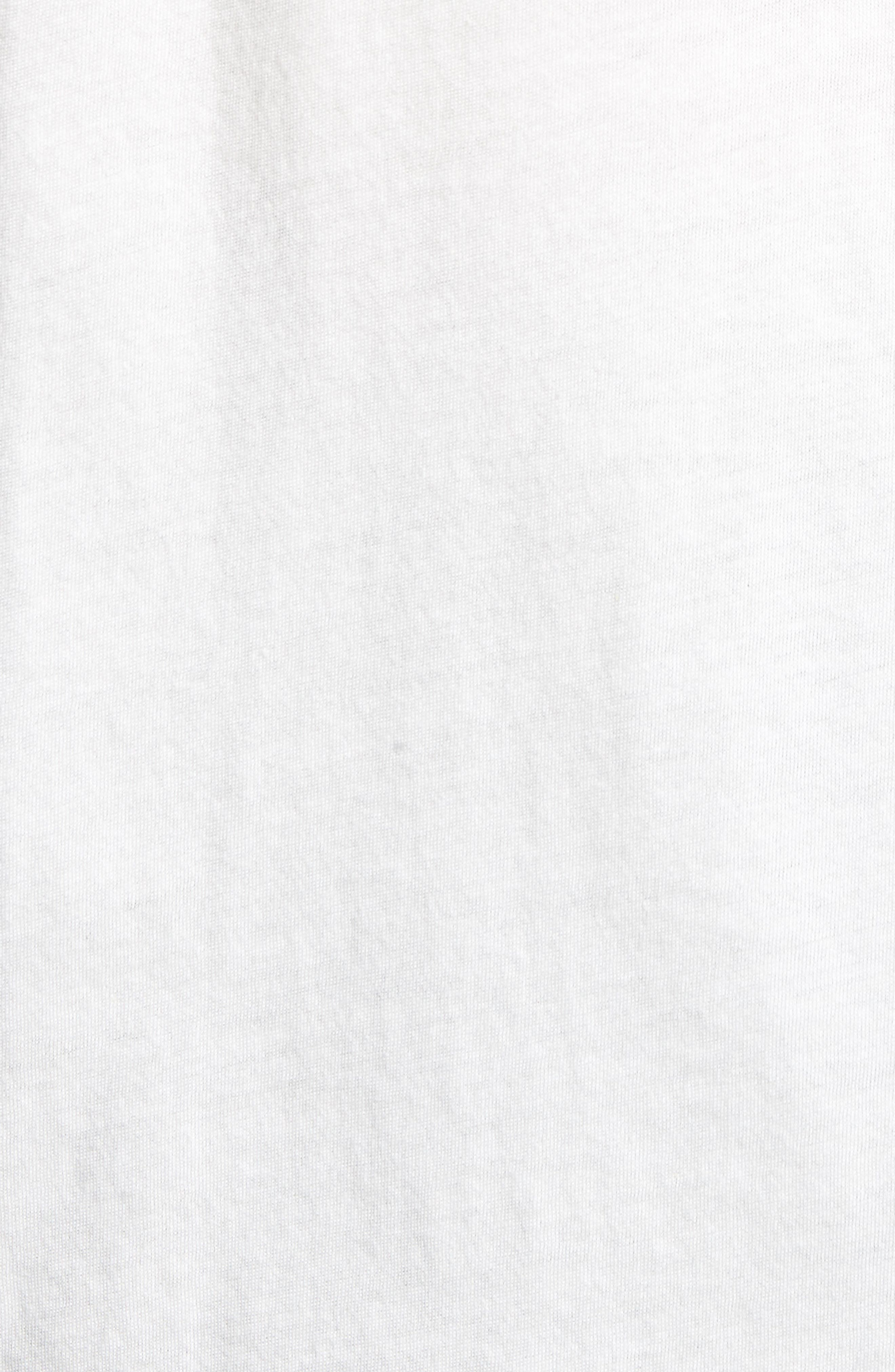 Logo Moth T-Shirt,                             Alternate thumbnail 5, color,                             OFF WHITE