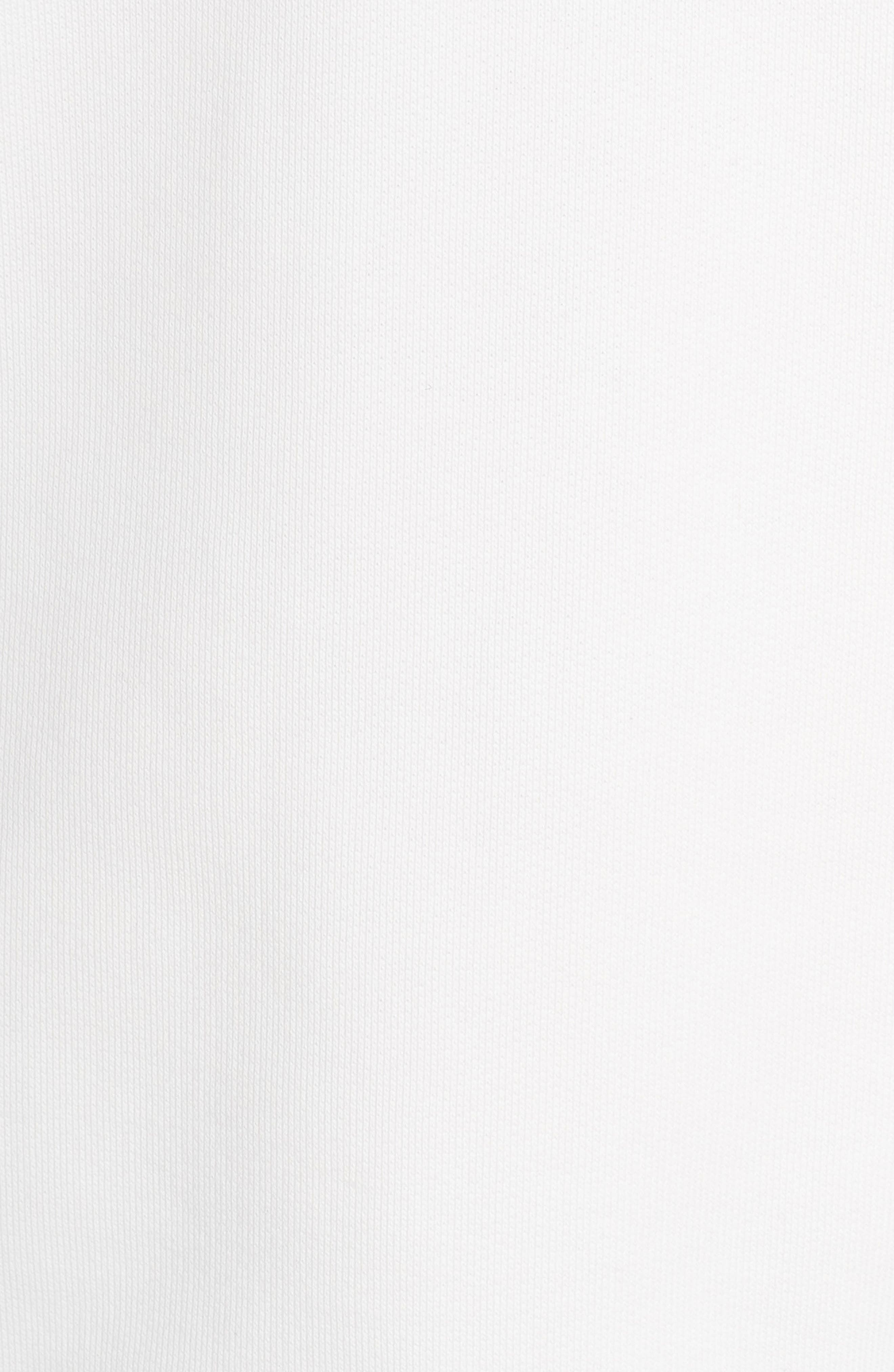 adidas x Alexander Wang Graphite Sweatshirt,                             Alternate thumbnail 6, color,                             900