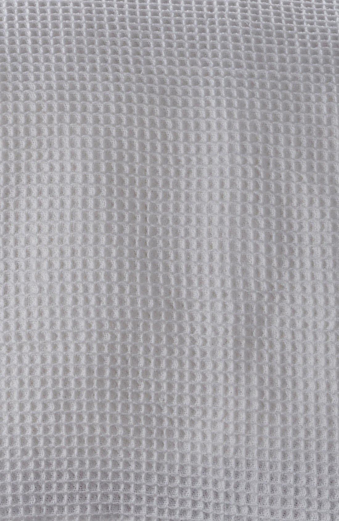 'Hudson' Waffle Knit Blanket,                             Alternate thumbnail 2, color,                             100