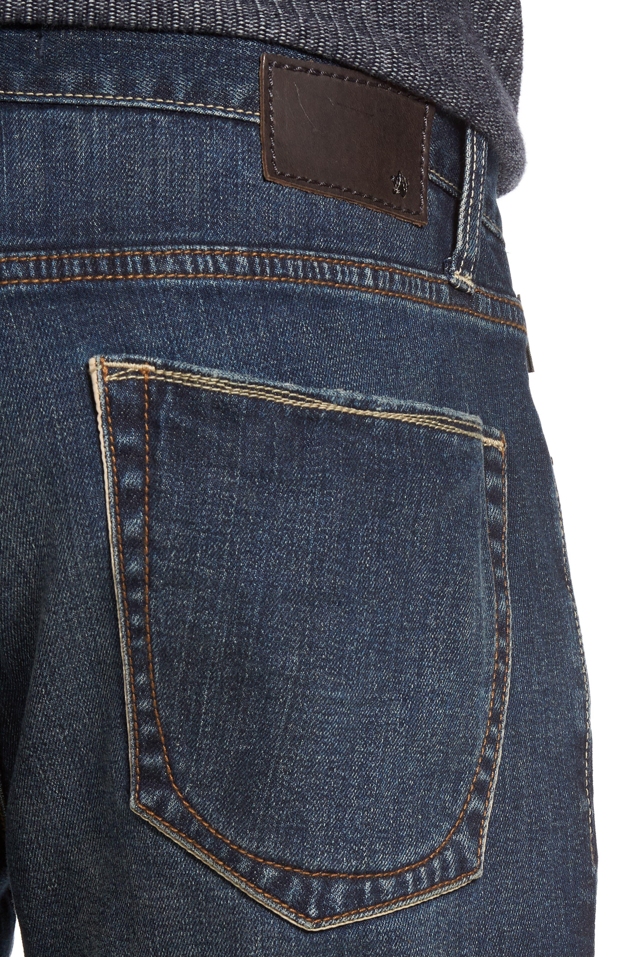 Bowery Slim Straight Leg Jeans,                             Alternate thumbnail 10, color,