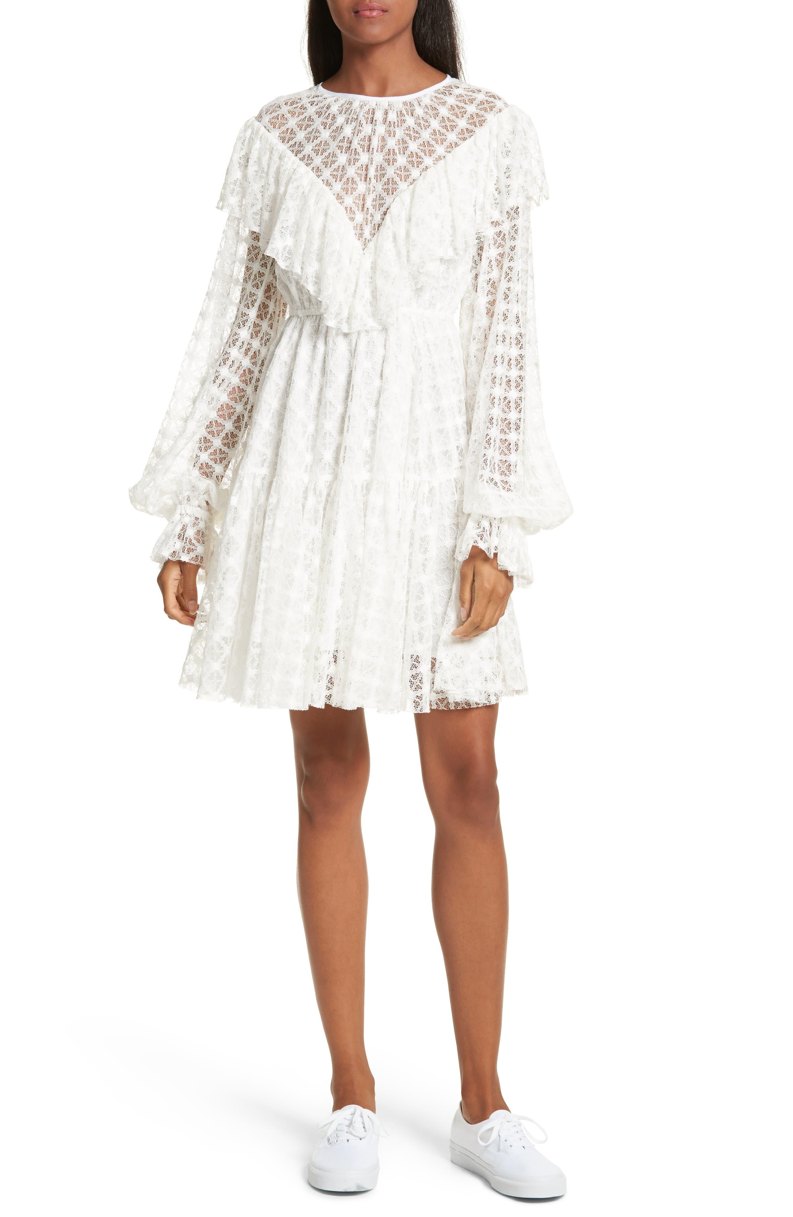 Lace Victorian Dress,                             Main thumbnail 1, color,                             900