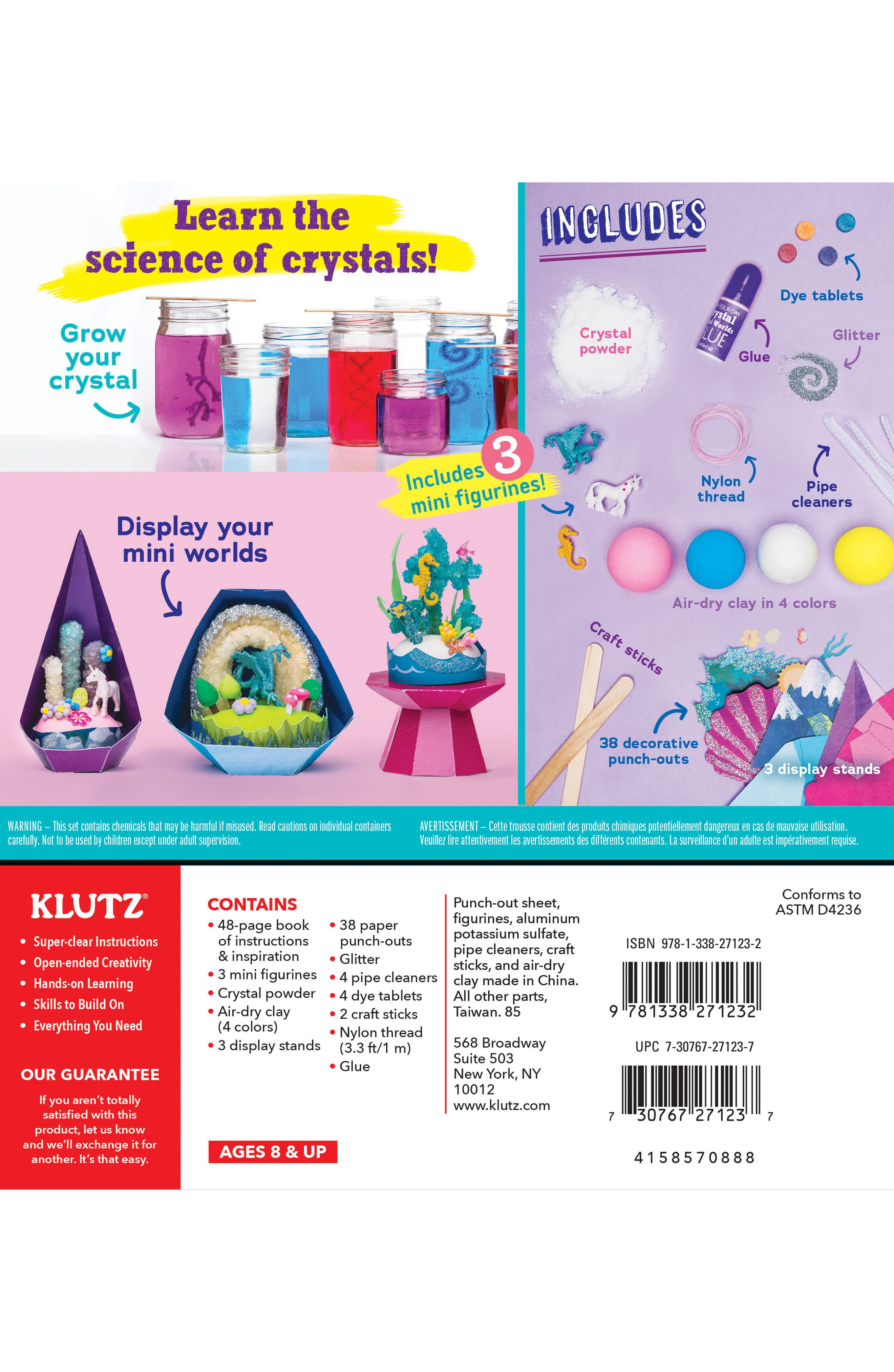 Grow Your Own Crystal Mini Worlds Kit,                             Alternate thumbnail 2, color,                             500
