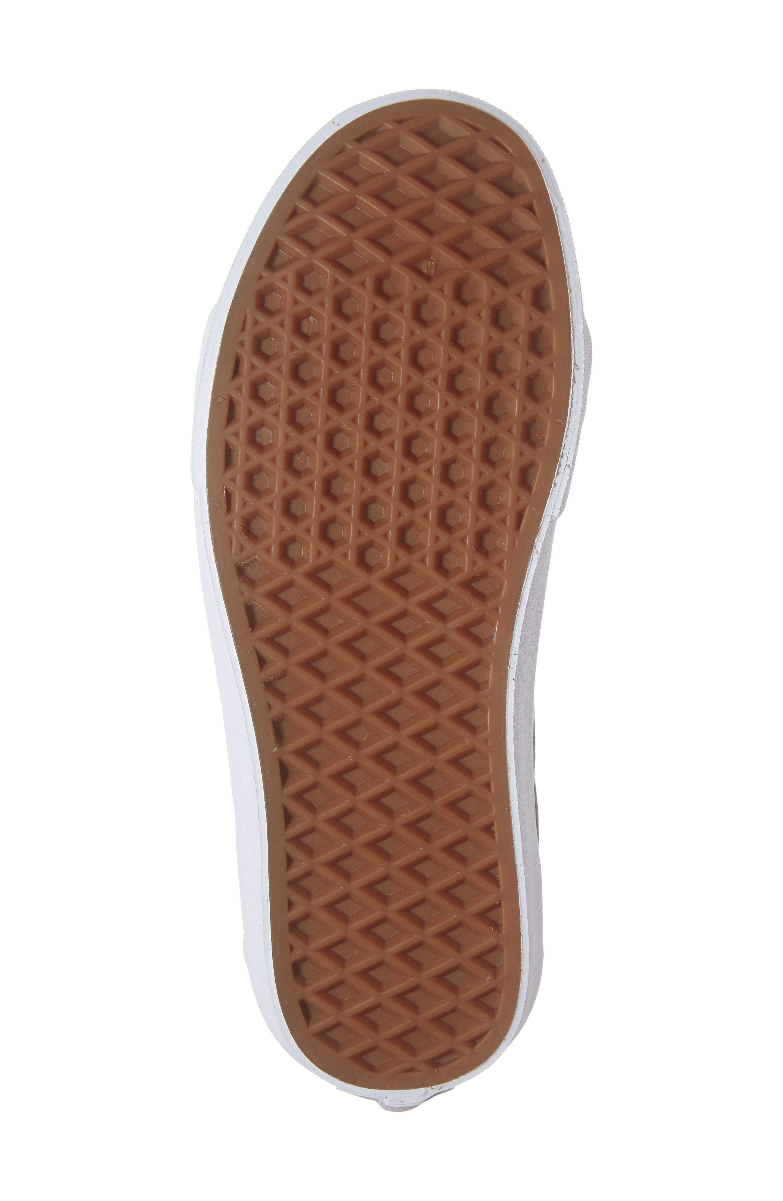 VANS,                             Sk8-Hi Reissue Sneaker,                             Alternate thumbnail 6, color,                             001