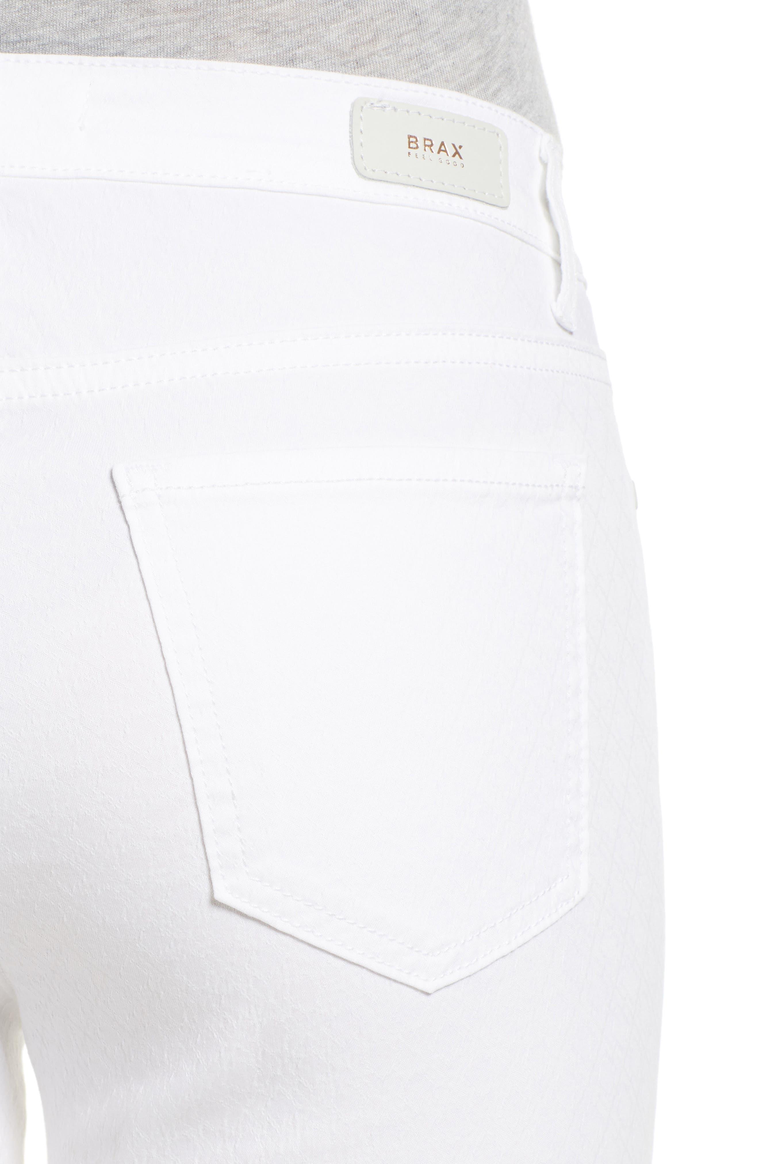 Shakira White Jeans,                             Alternate thumbnail 4, color,