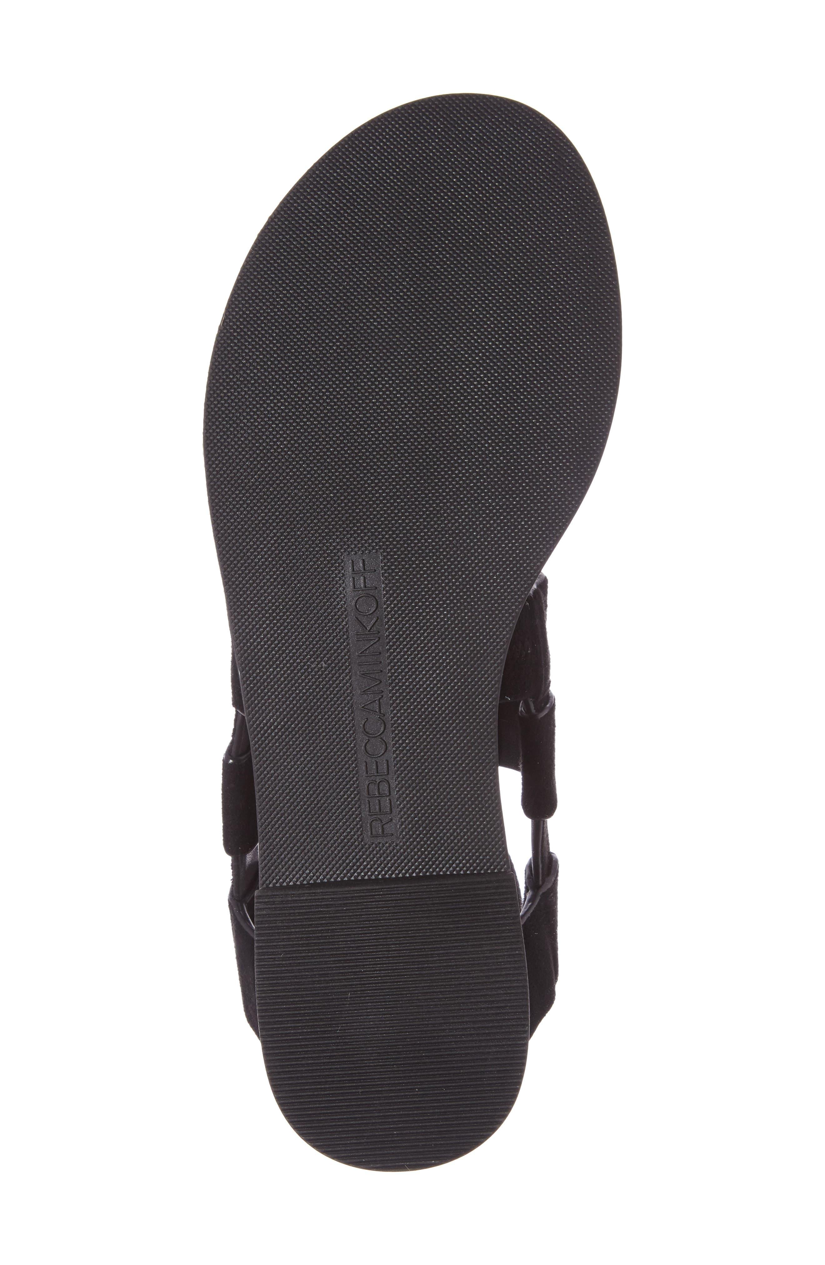 Giada Strappy Sandal,                             Alternate thumbnail 4, color,                             001