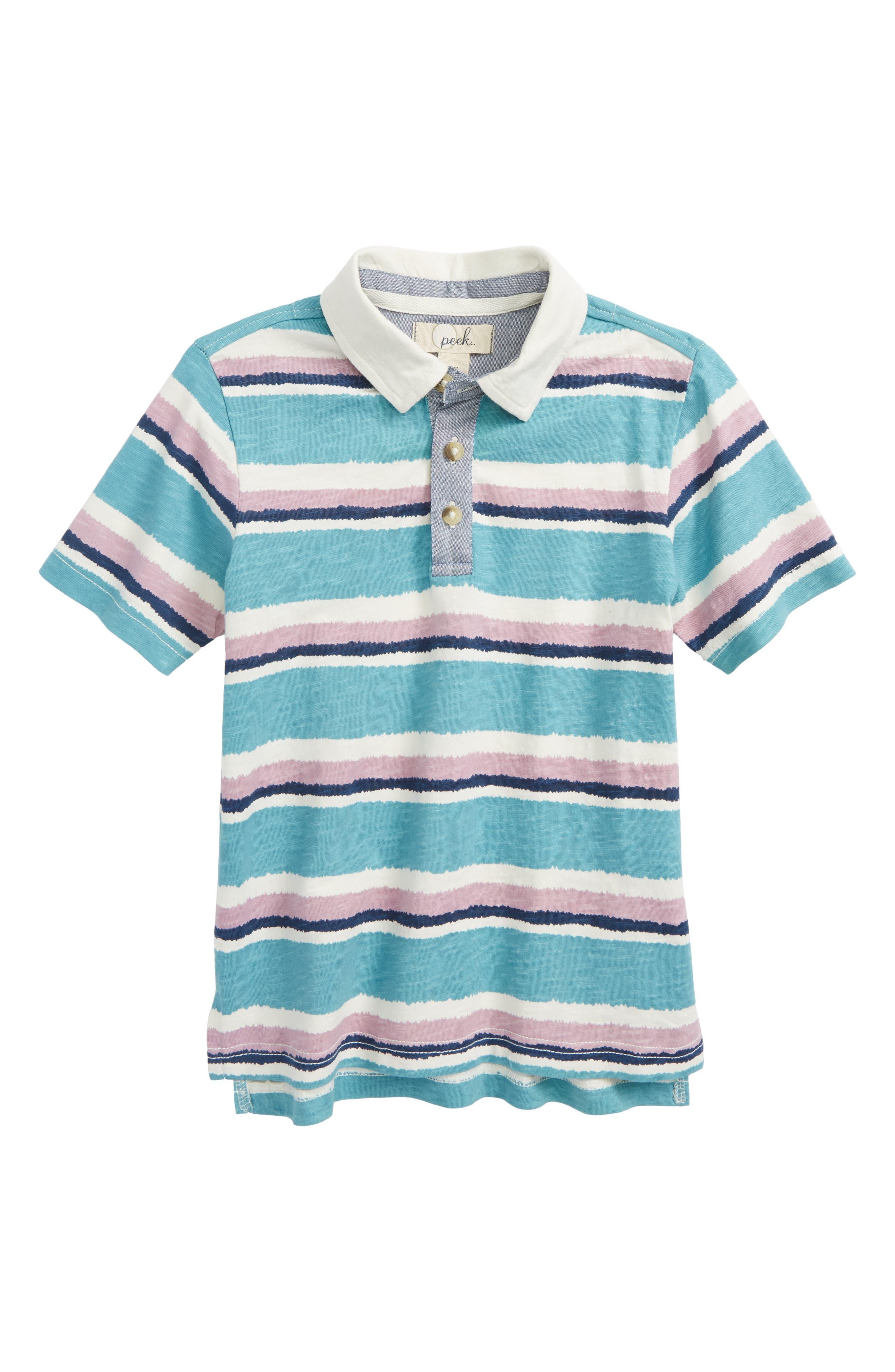 Sammy Stripe Polo,                         Main,                         color, 300