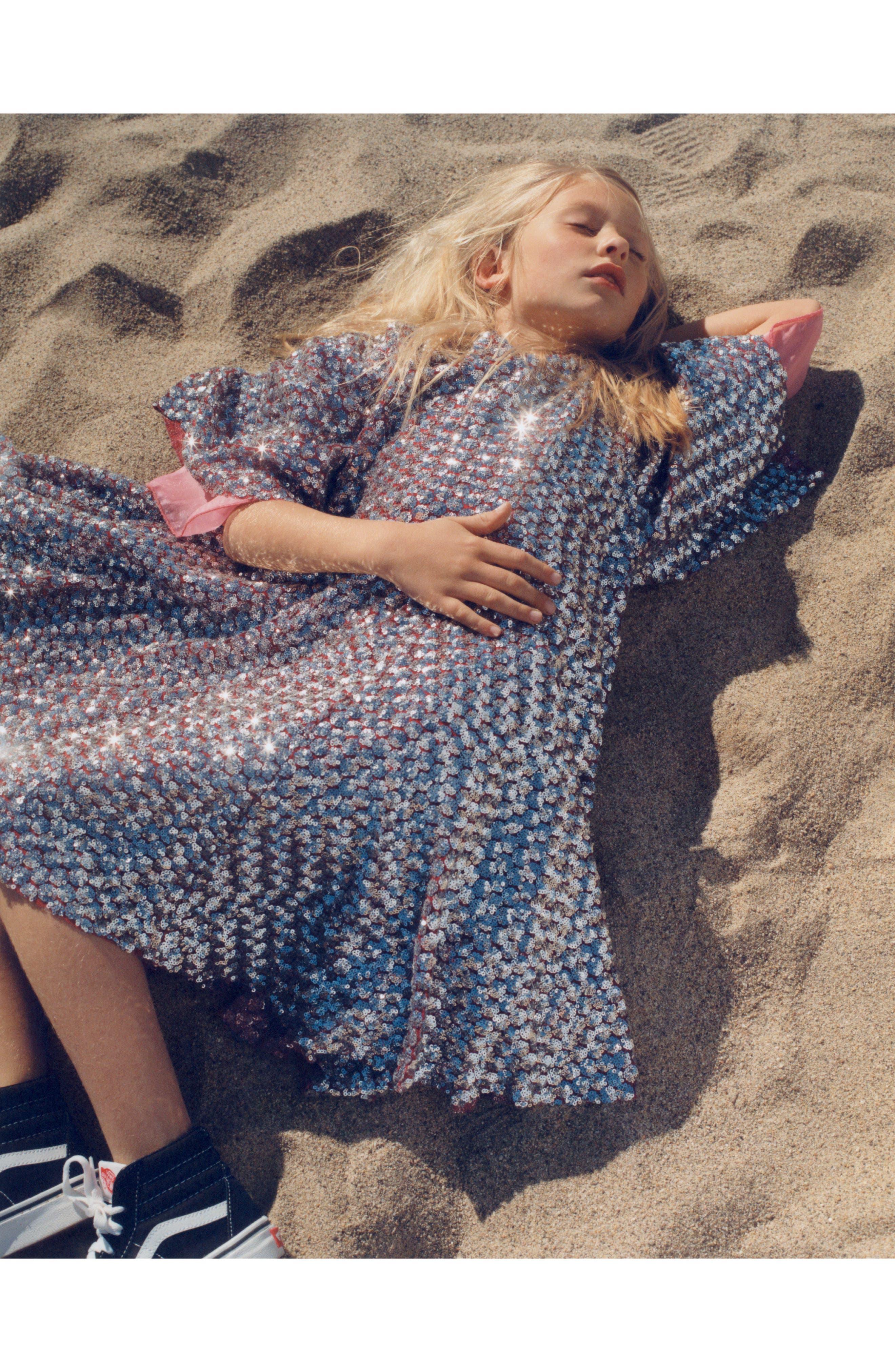 Simmi Sequin Dress,                             Alternate thumbnail 7, color,                             040