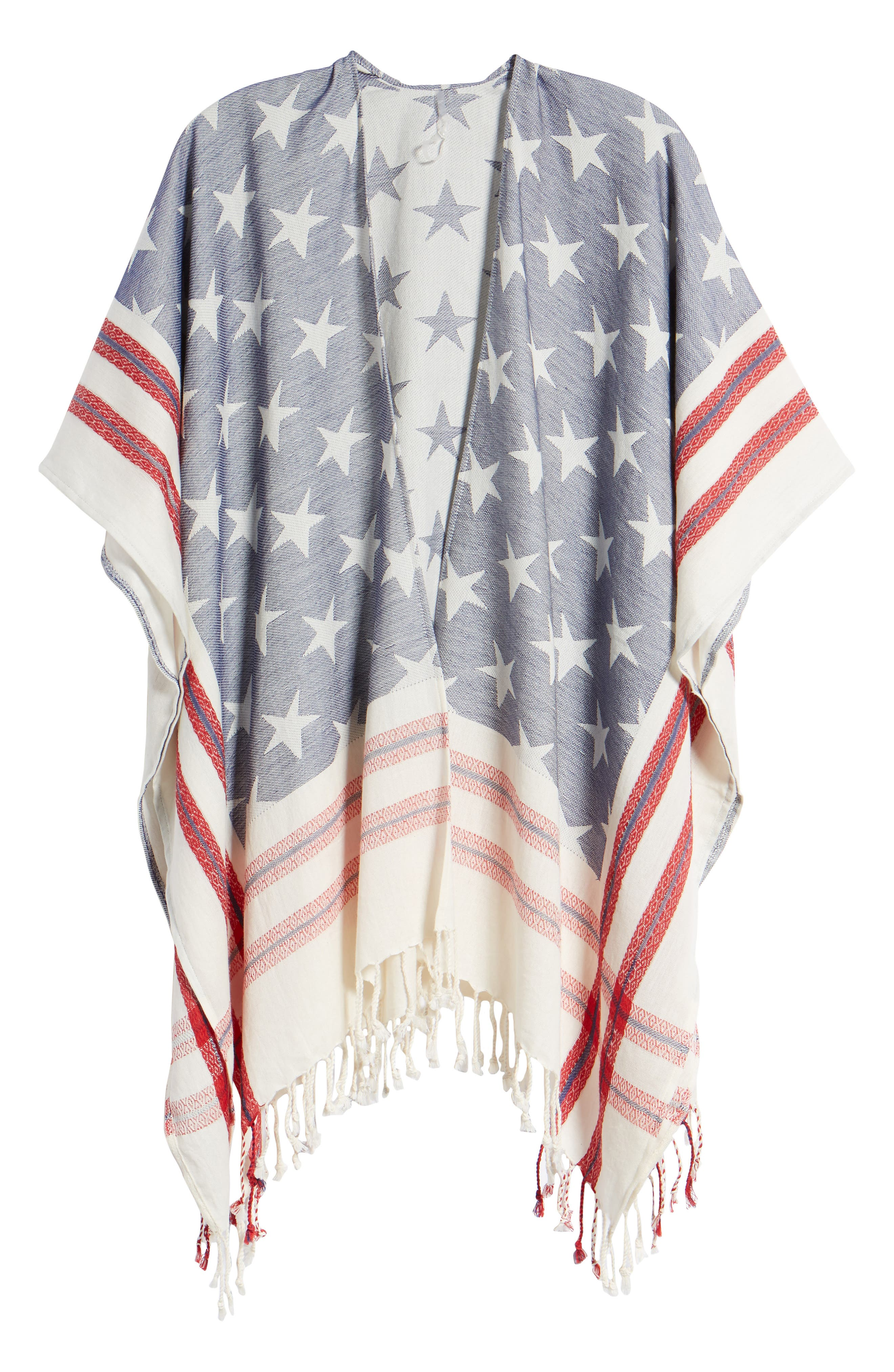 American Boho Jacquard Topper,                             Alternate thumbnail 6, color,                             400