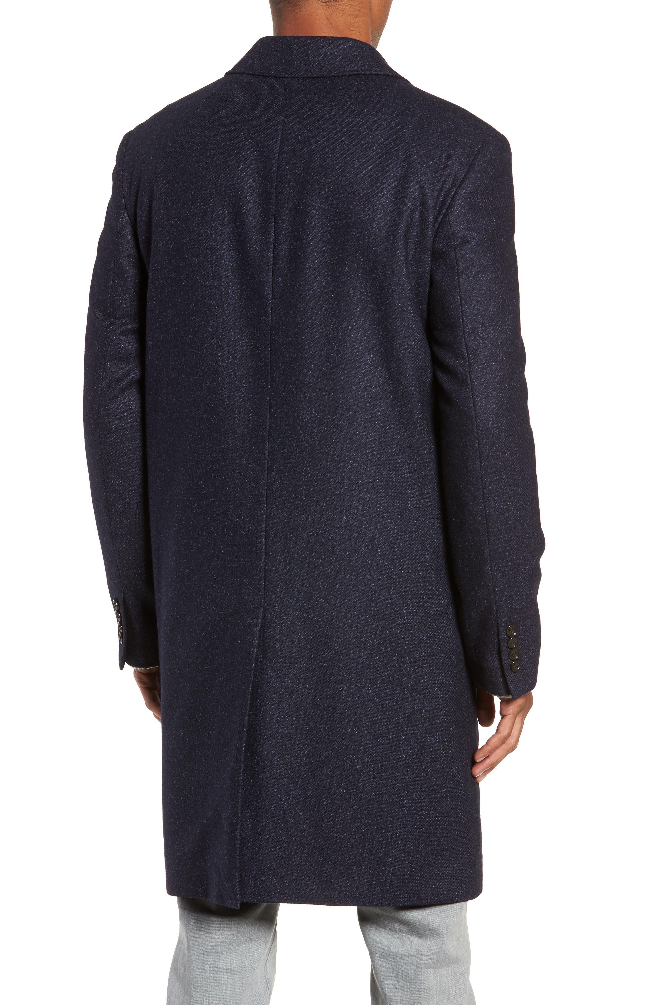 Destination Water Resistant Tweed Topcoat,                             Alternate thumbnail 2, color,                             400