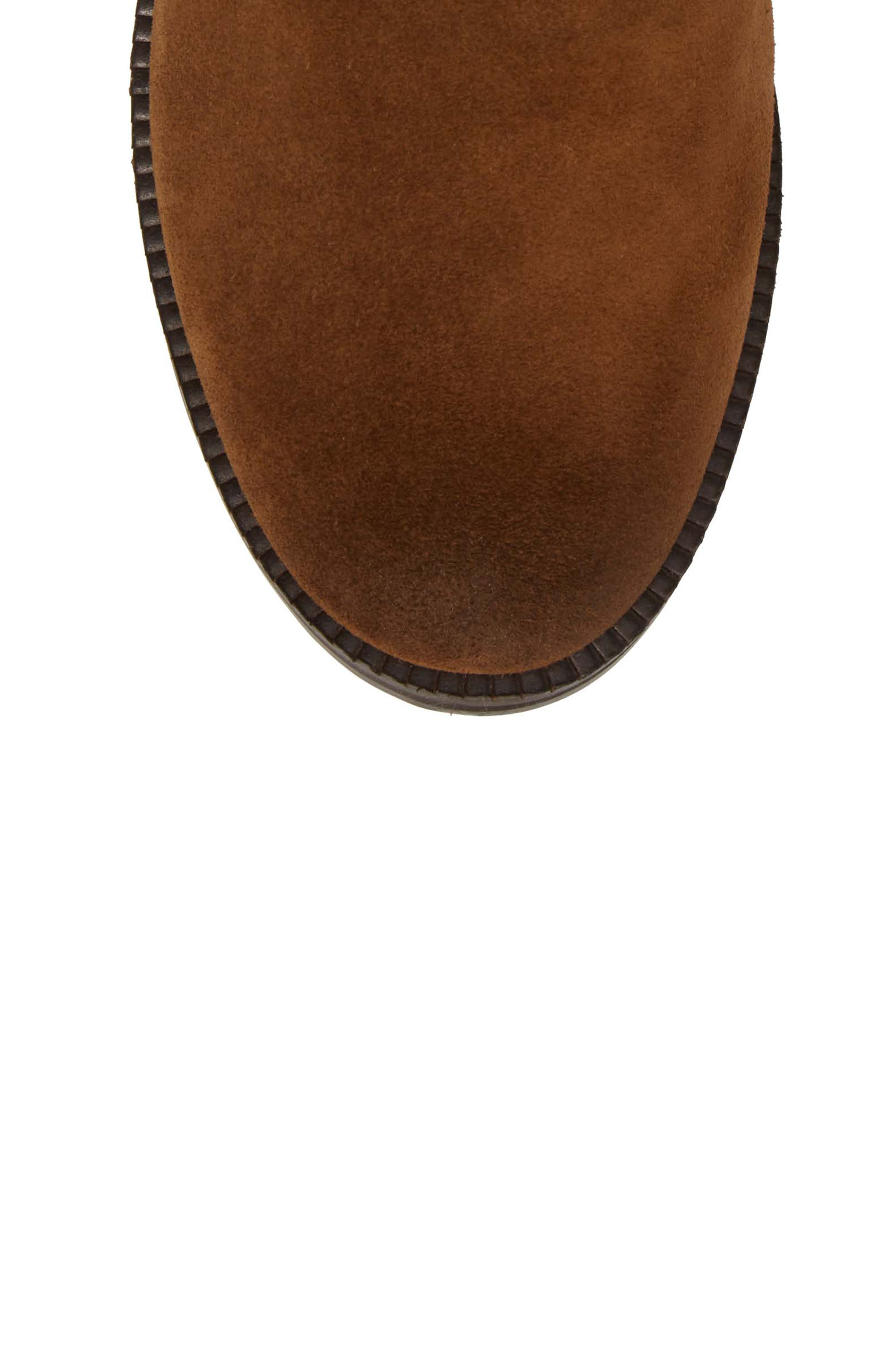 by Kenneth Cole Percy Bootie,                             Alternate thumbnail 5, color,                             WALNUT SUEDE