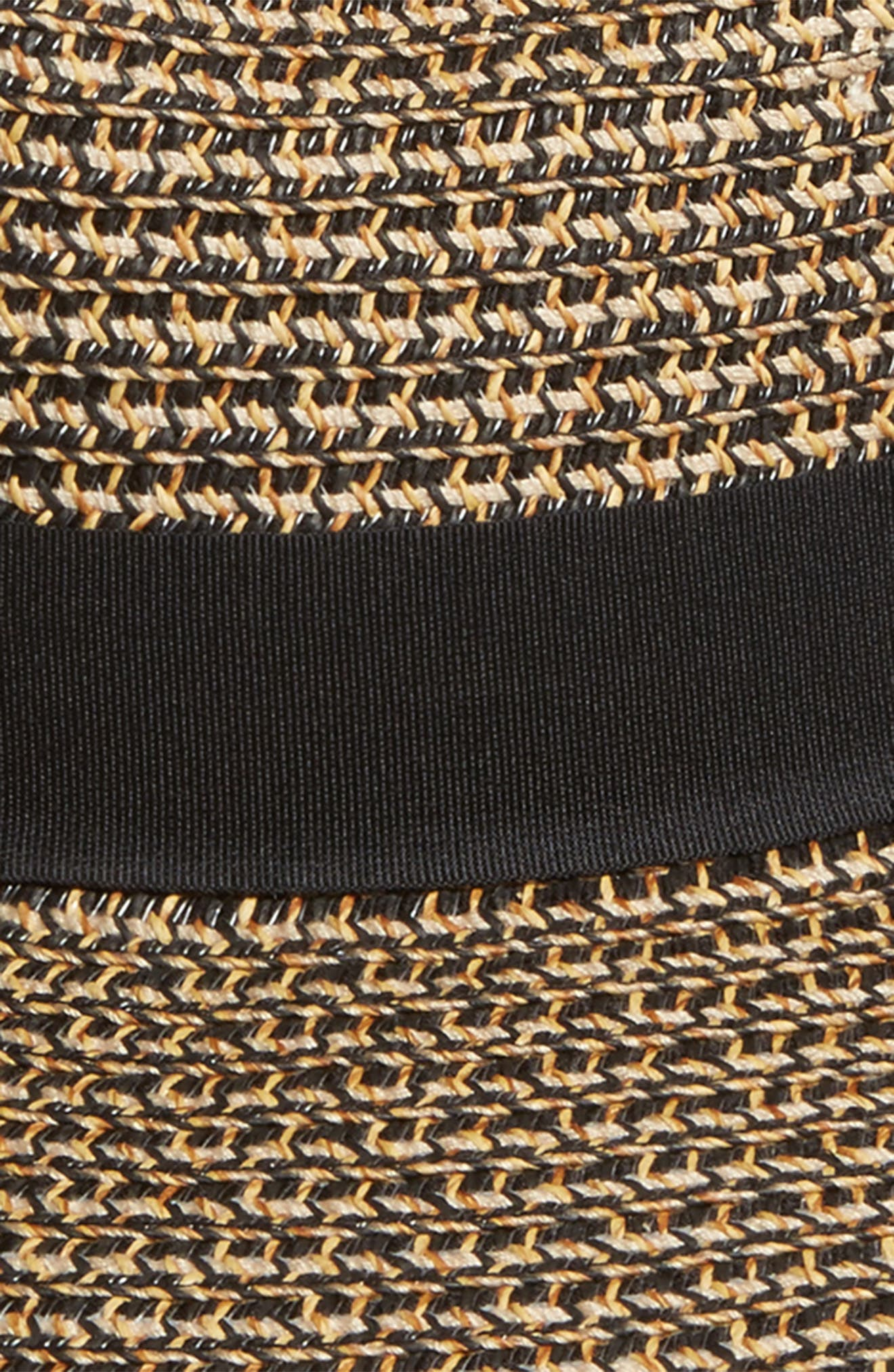 Woven Straw Sun Hat,                             Alternate thumbnail 2, color,                             005