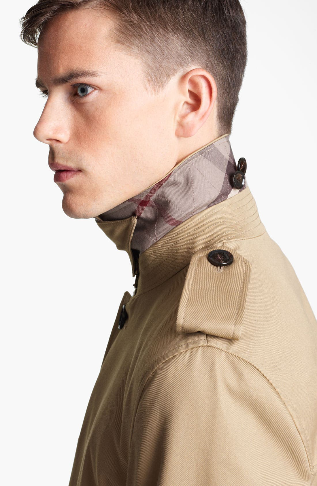 London 'Britton' Single Breasted Trench Coat,                             Alternate thumbnail 5, color,                             250