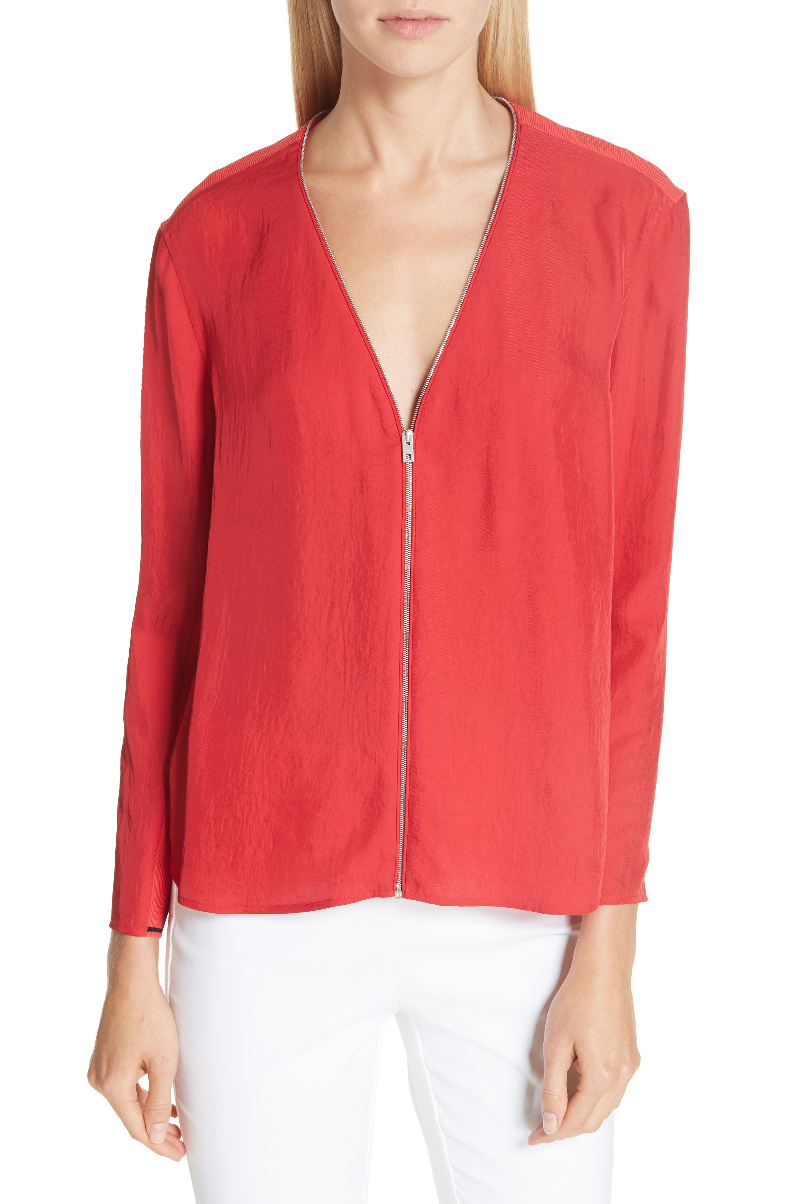 Vanessa Top, Main, color, RED