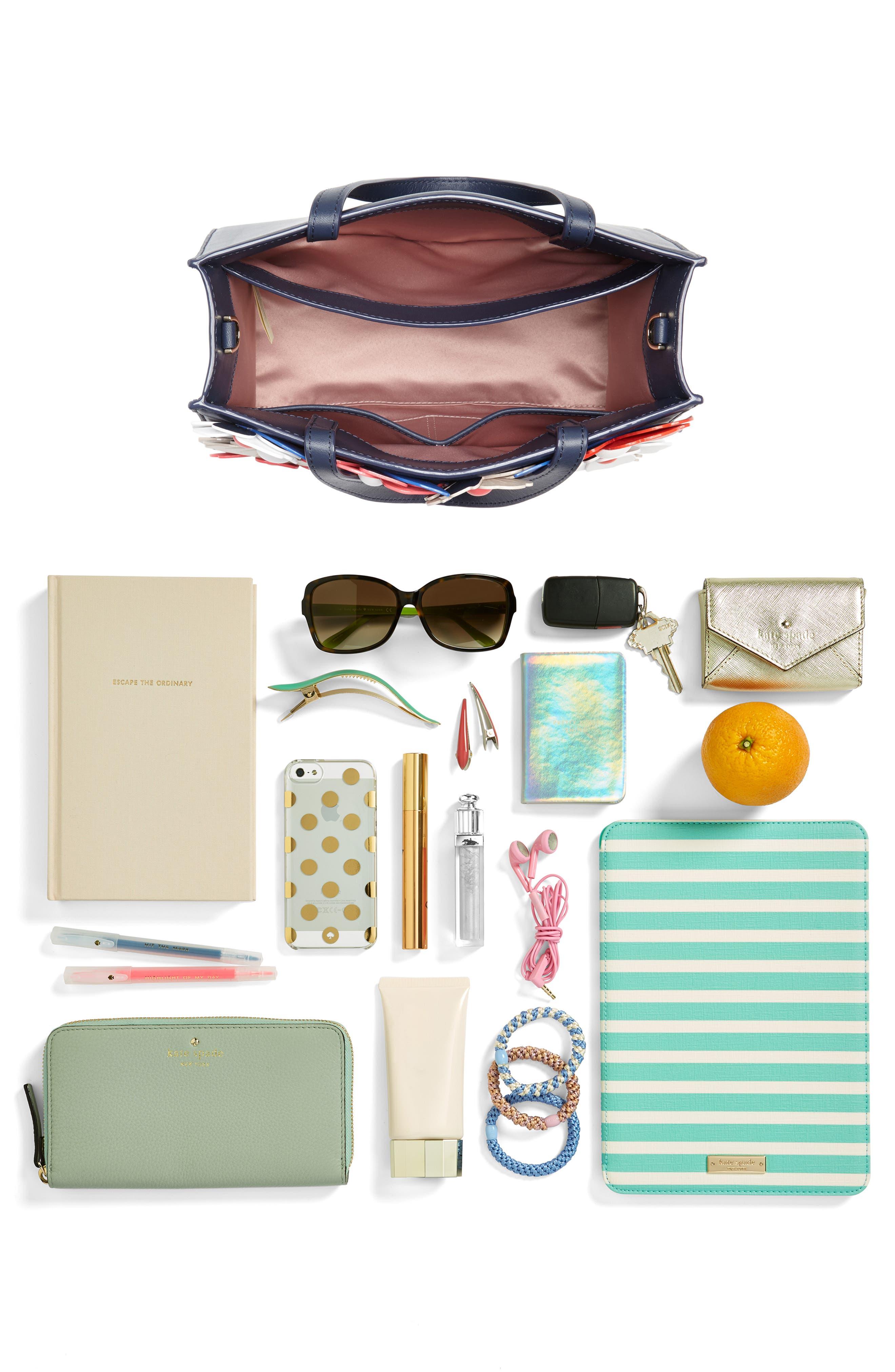 madison daisy lane – sam leather handbag,                             Alternate thumbnail 7, color,                             400