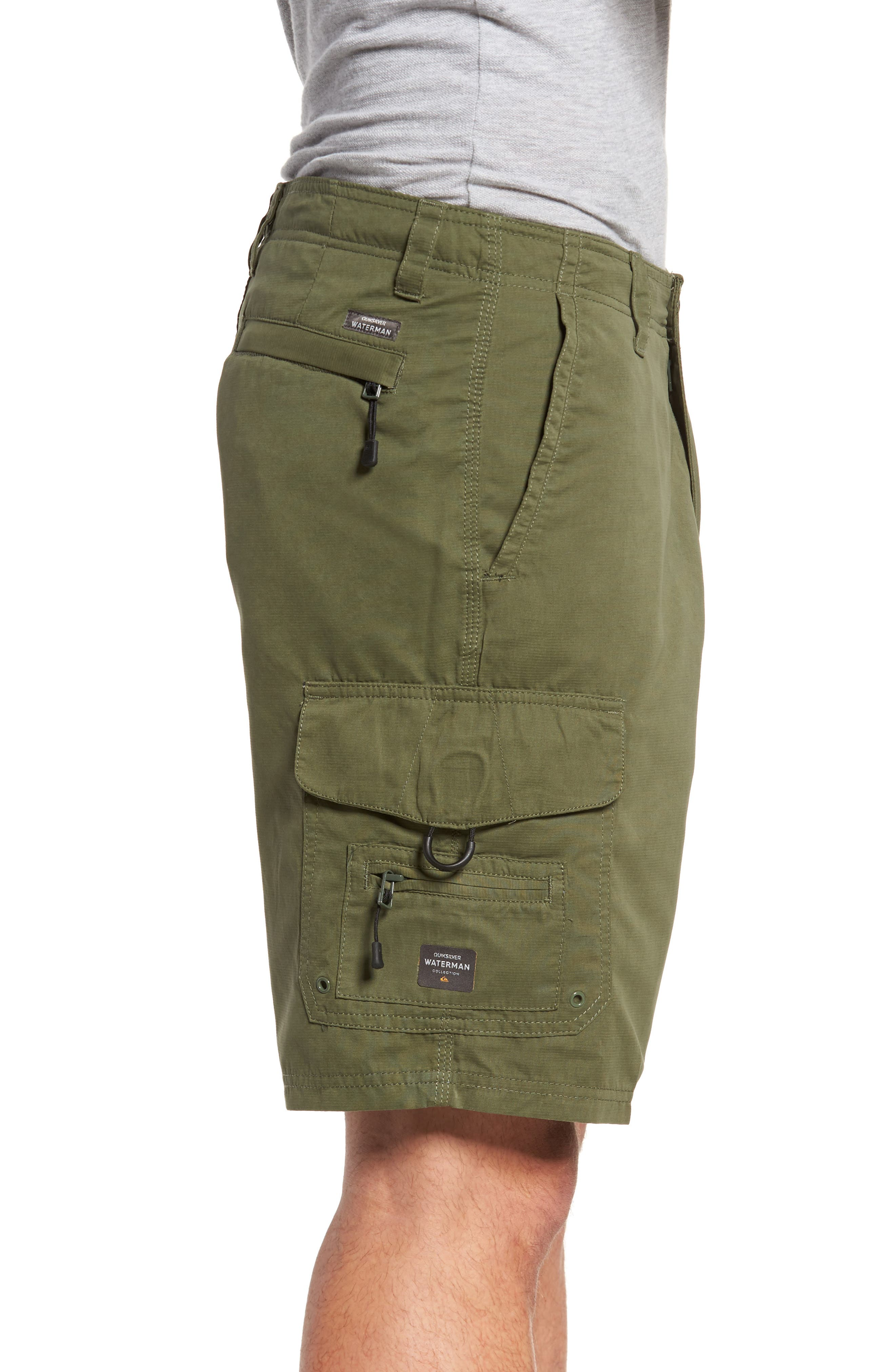 Maldive Cargo Shorts,                             Alternate thumbnail 3, color,                             304