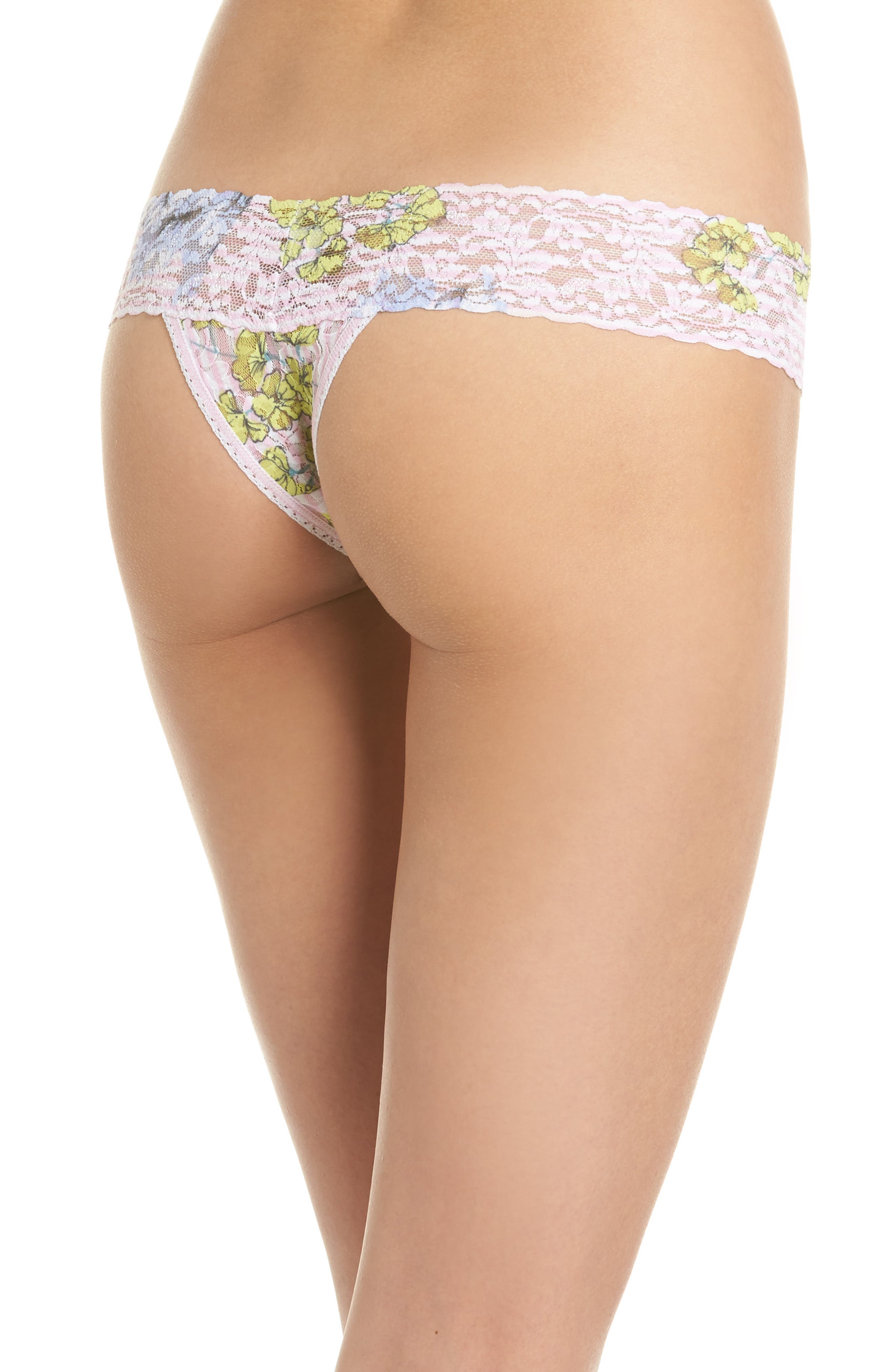 Print Low Rise Thong,                             Alternate thumbnail 33, color,