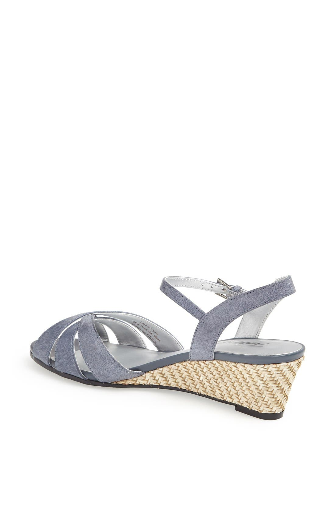 'Mickey' Wedge Sandal,                             Alternate thumbnail 39, color,