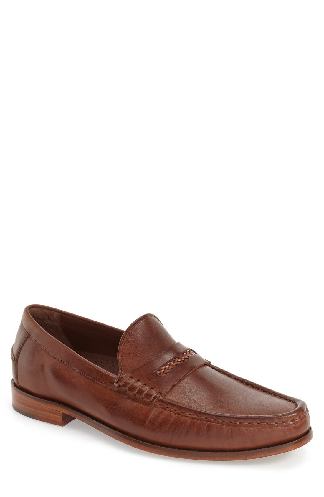 'Pinch Gotham' Penny Loafer,                             Main thumbnail 3, color,