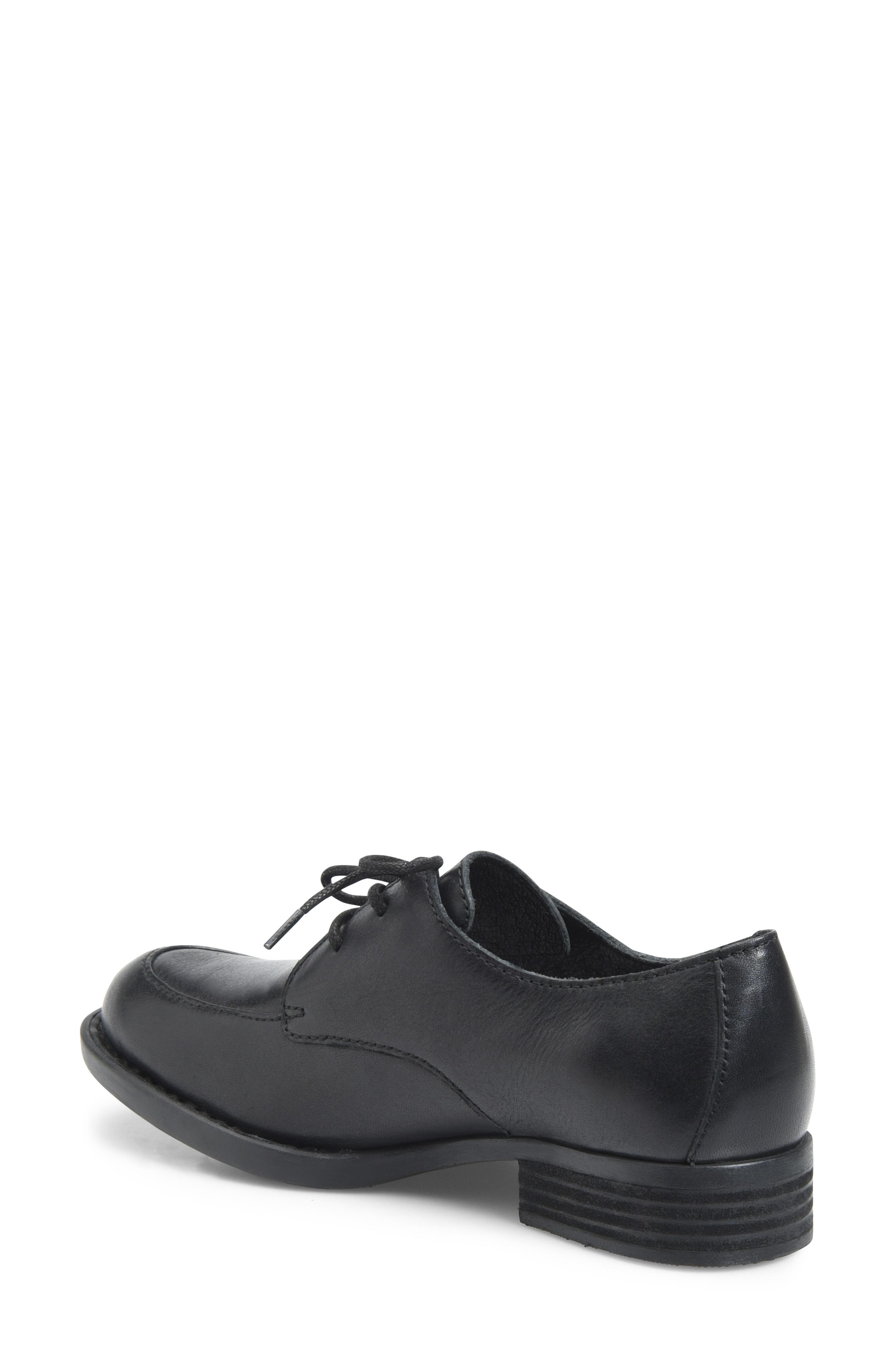 Rora Derby,                             Alternate thumbnail 2, color,                             BLACK LEATHER