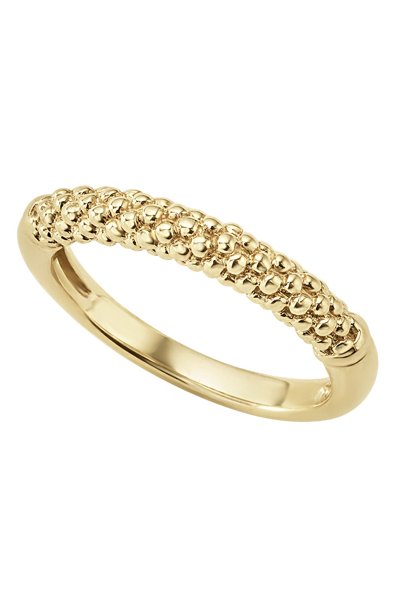 Caviar Band Ring,                             Alternate thumbnail 5, color,                             GOLD