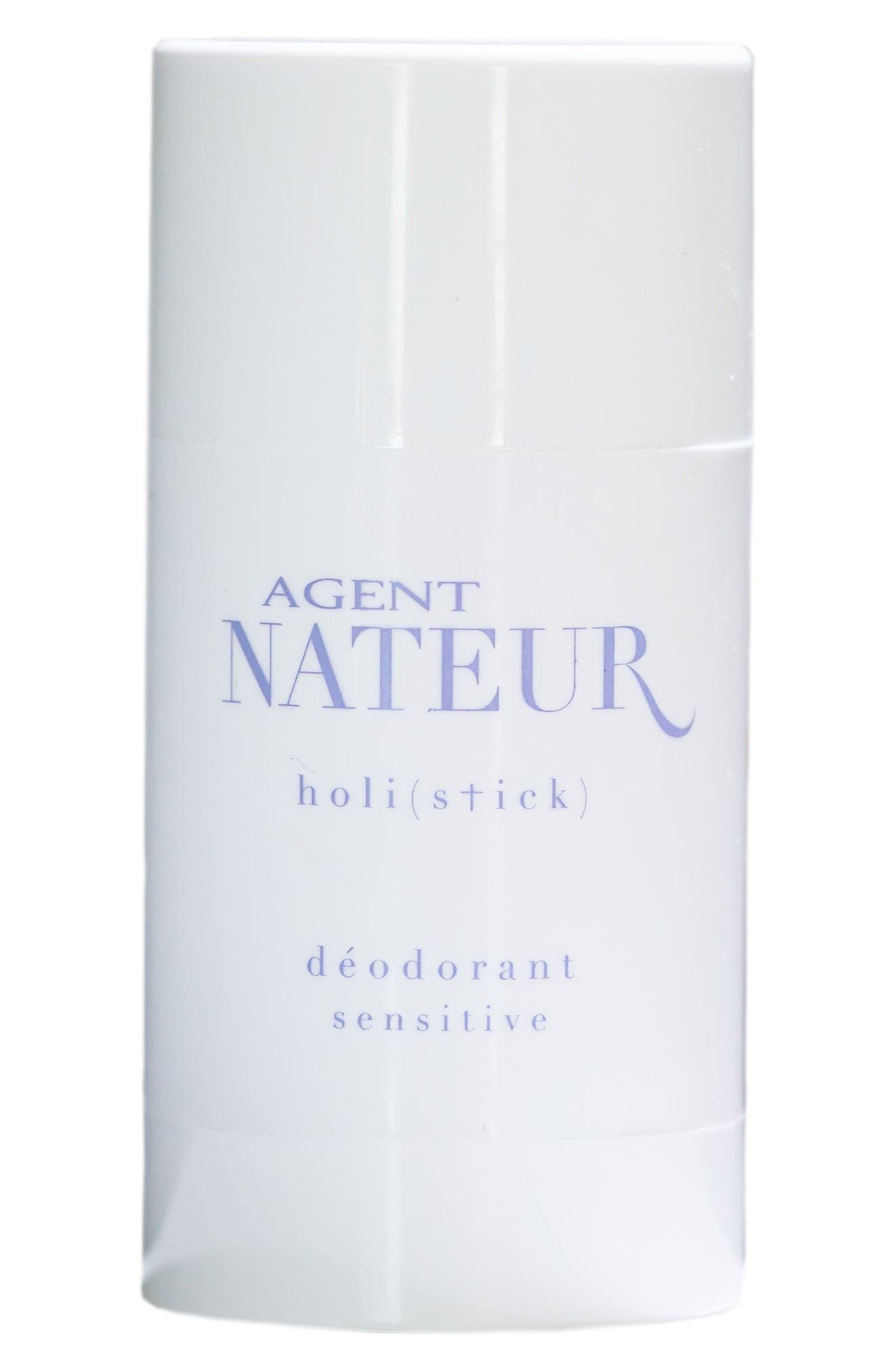 AGENT NATEUR,                             Holi(Stick) Sensitive Deodorant,                             Main thumbnail 1, color,                             NO COLOR
