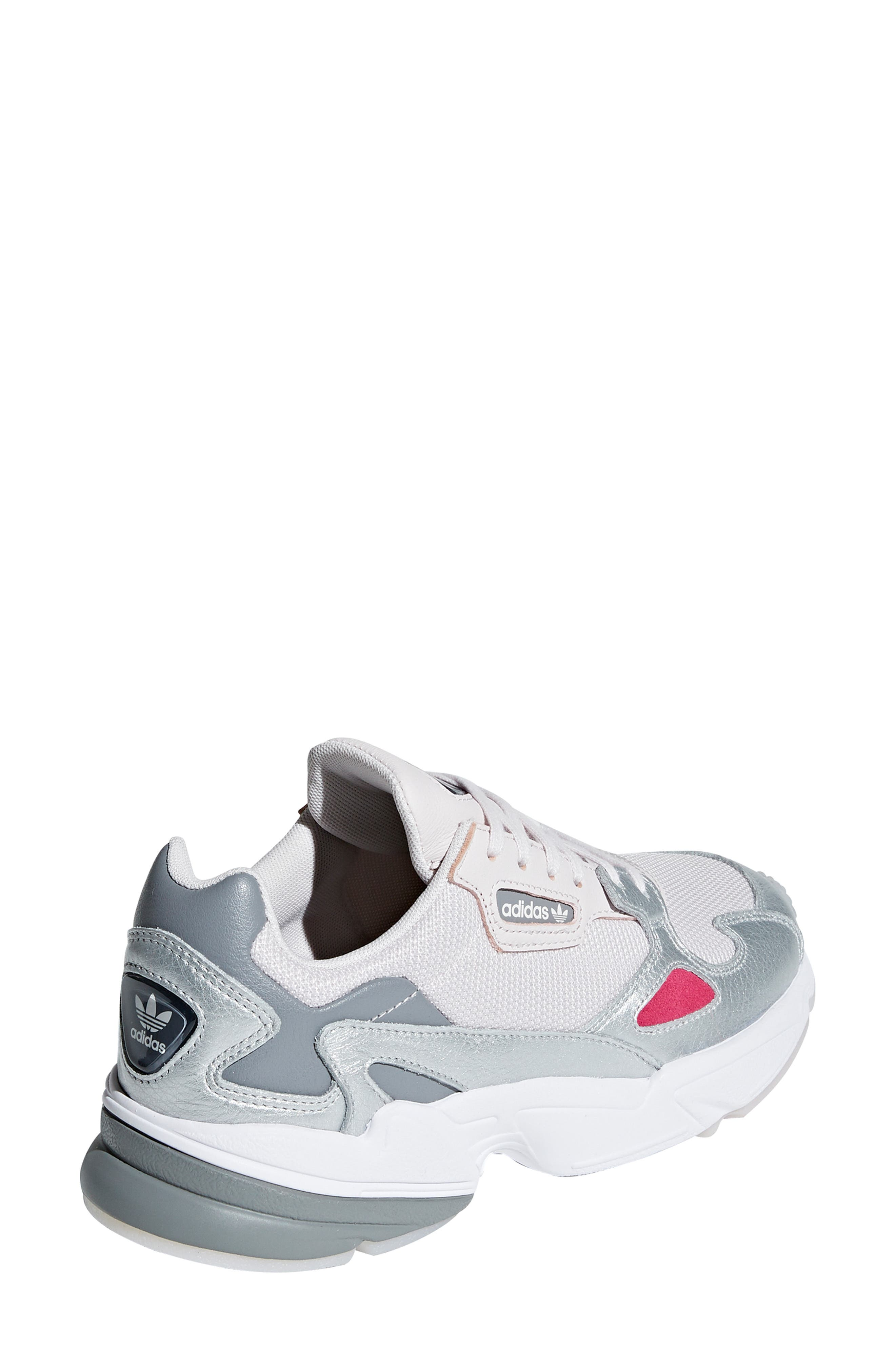 Falcon Sneaker,                             Alternate thumbnail 2, color,                             ORCHID TINT/ SILVER