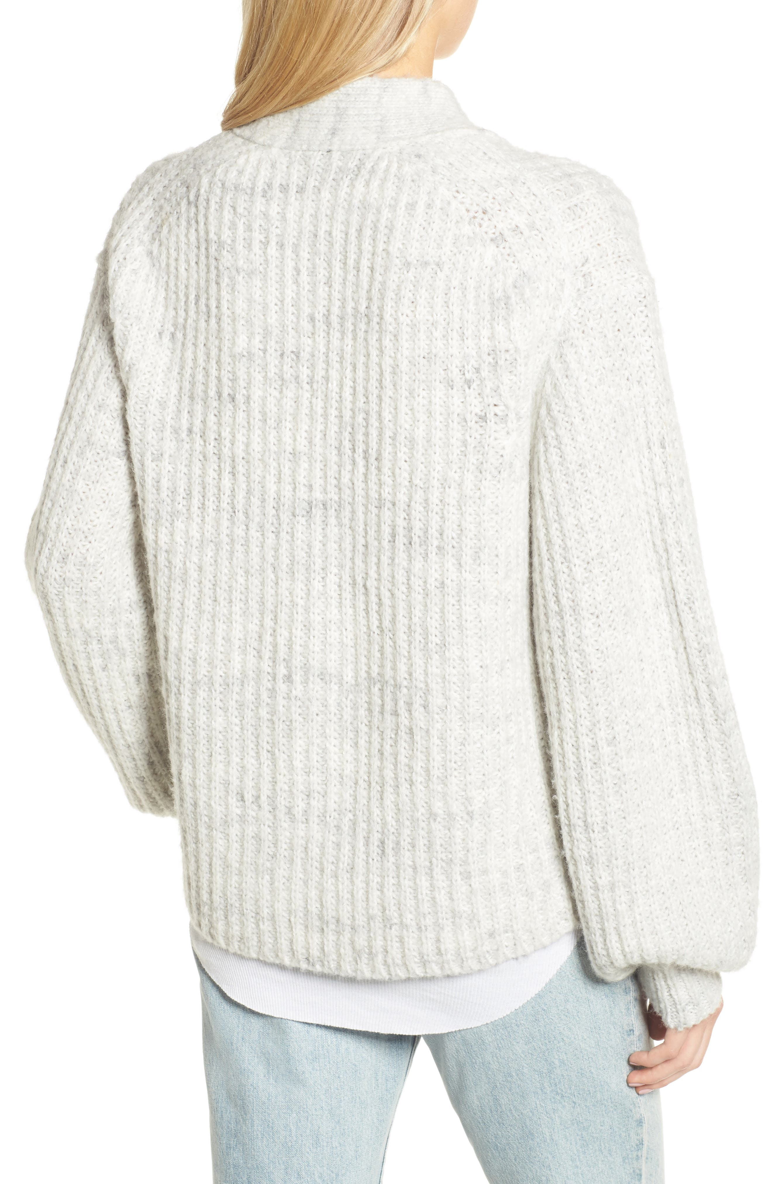 Oversize Cardigan,                             Alternate thumbnail 2, color,                             020